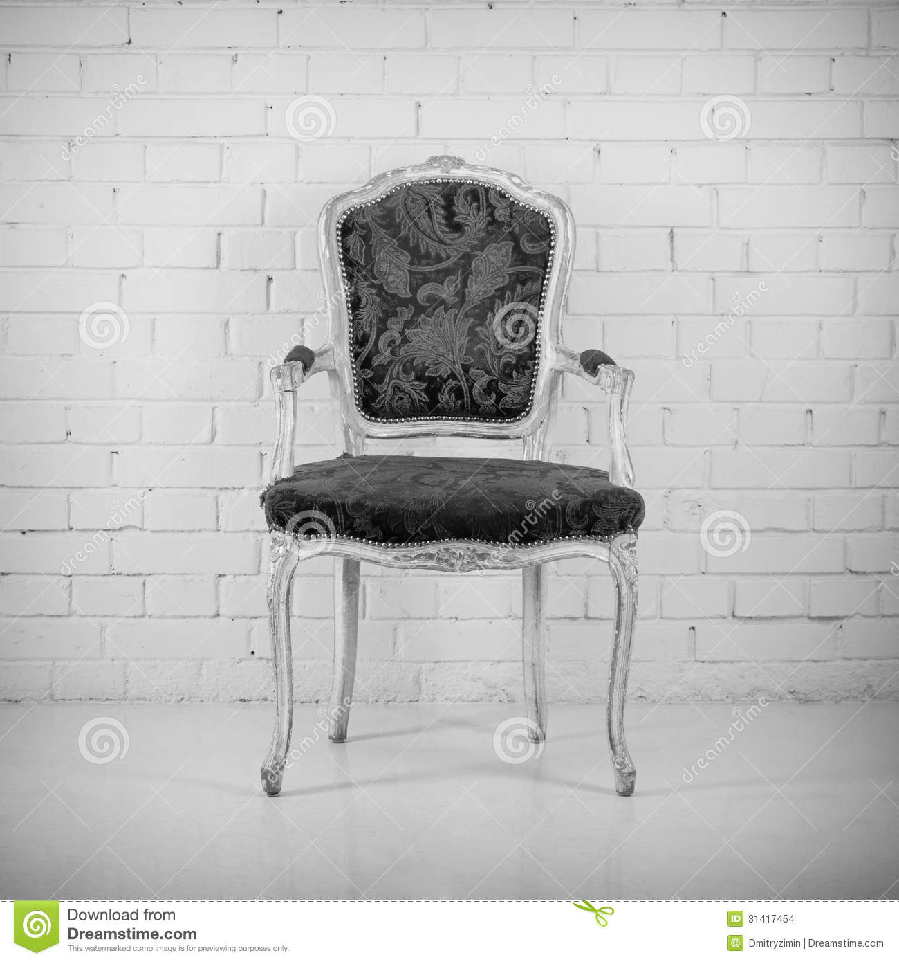 Black and white chair photography - Vintage Chair