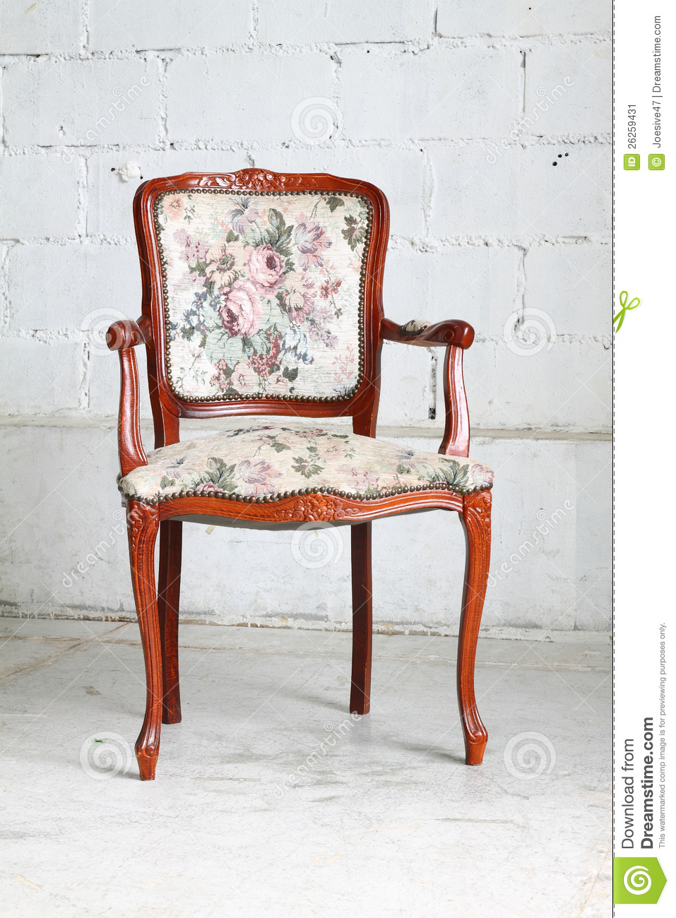 Vintage Chair In The Room Stock Image Image 26259431
