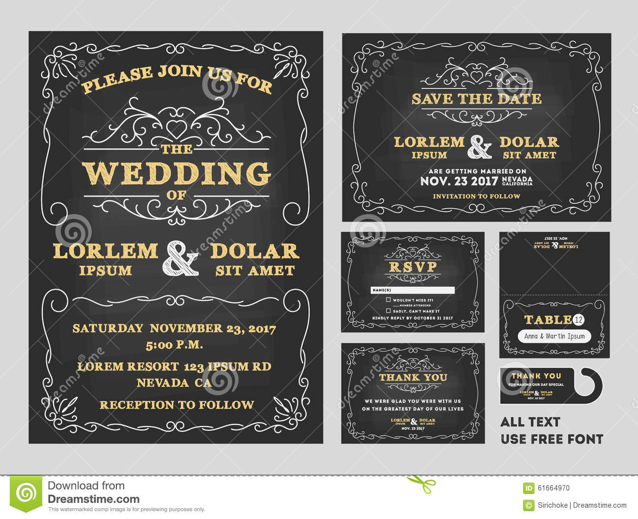 set sets include invitation card save date card rsvp card thank you