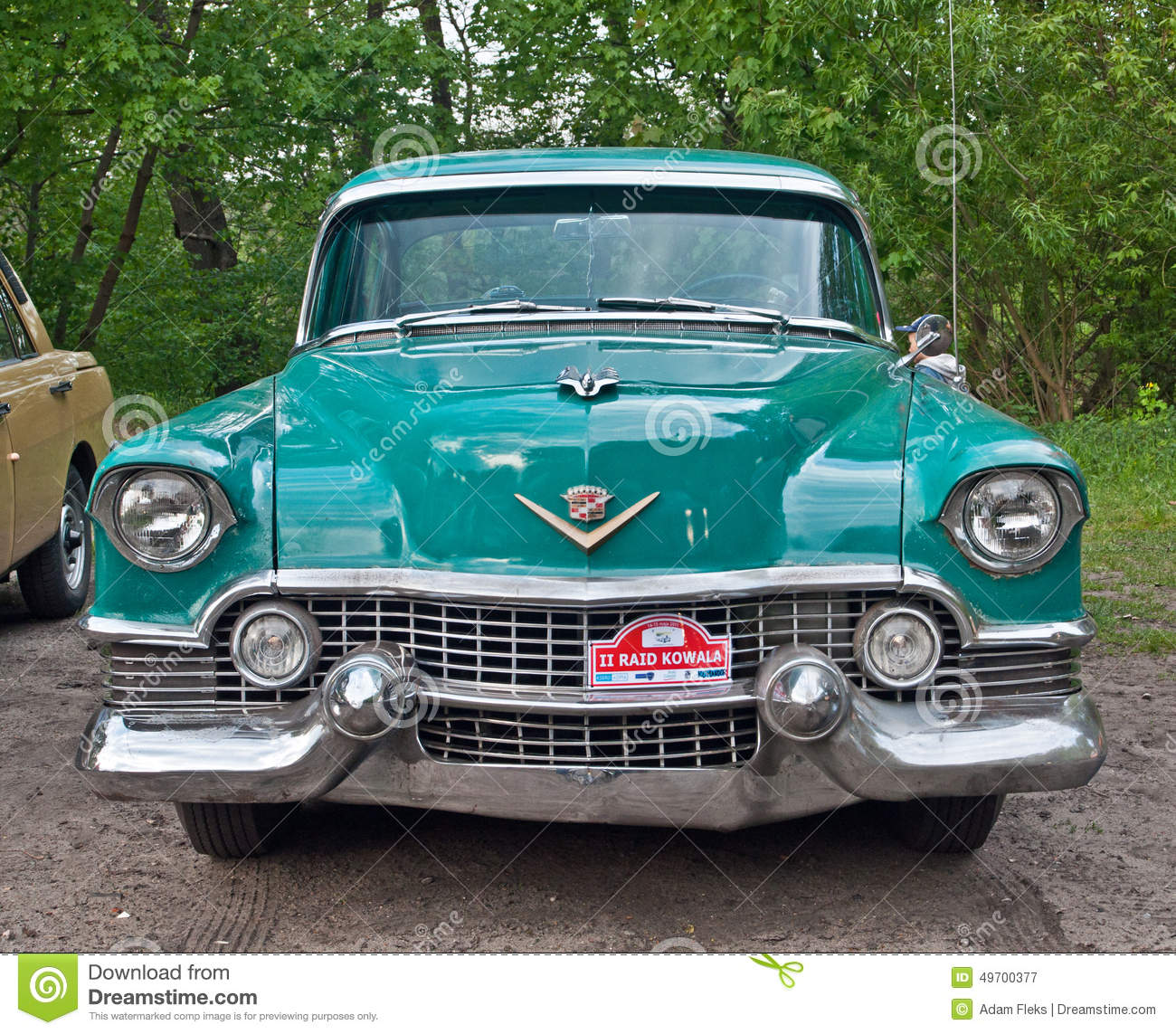 Vintage Chevrolet During Old Cars Race Editorial Photography - Image ...