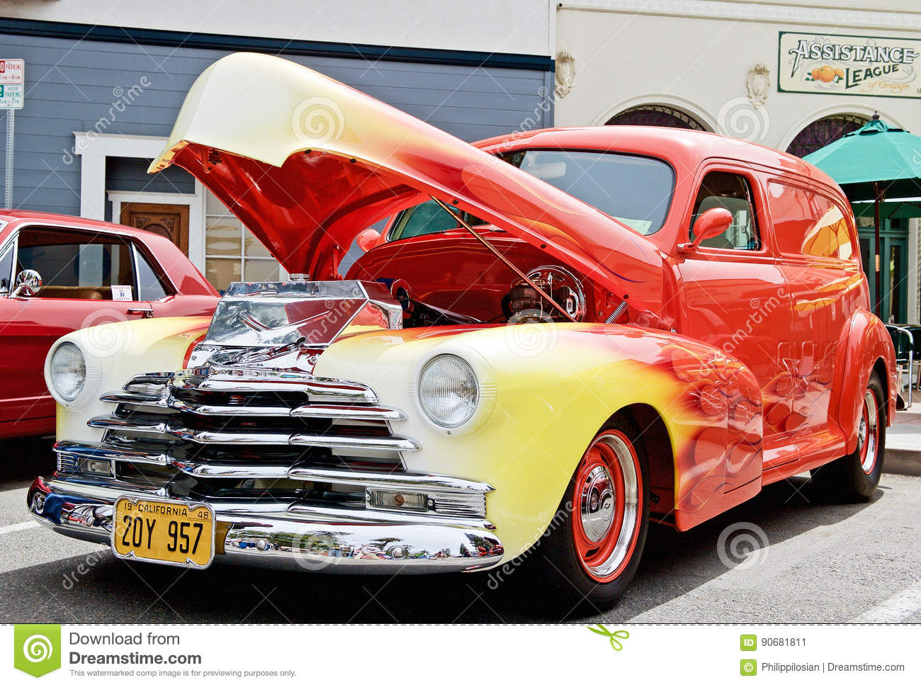 Truck 1948 chevy panel truck : Vintage 1948 Chevy Panel Truck Editorial Photo - Image: 90681811