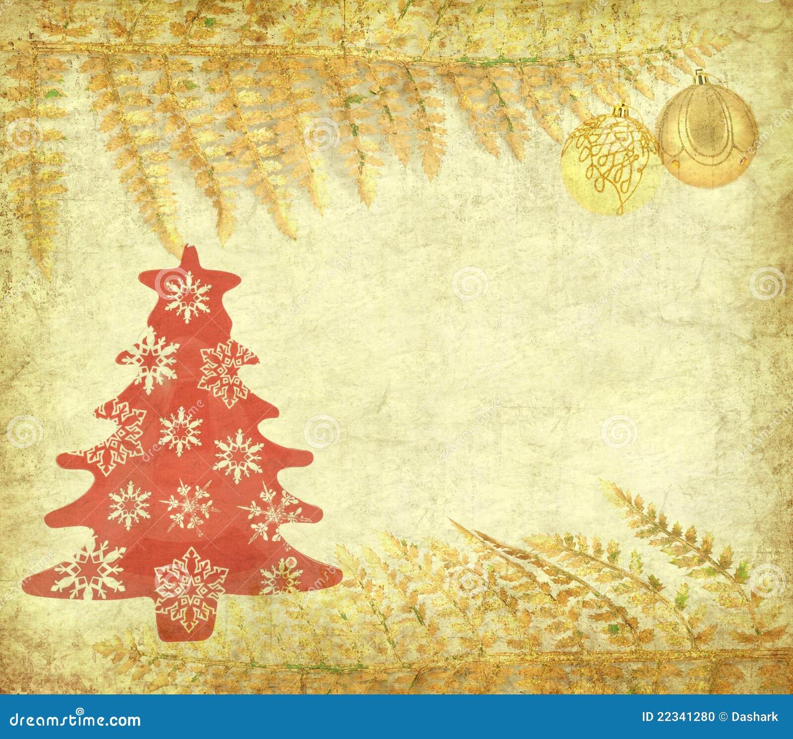 Vintage Christmas Background Stock Photo - Image: 22341280