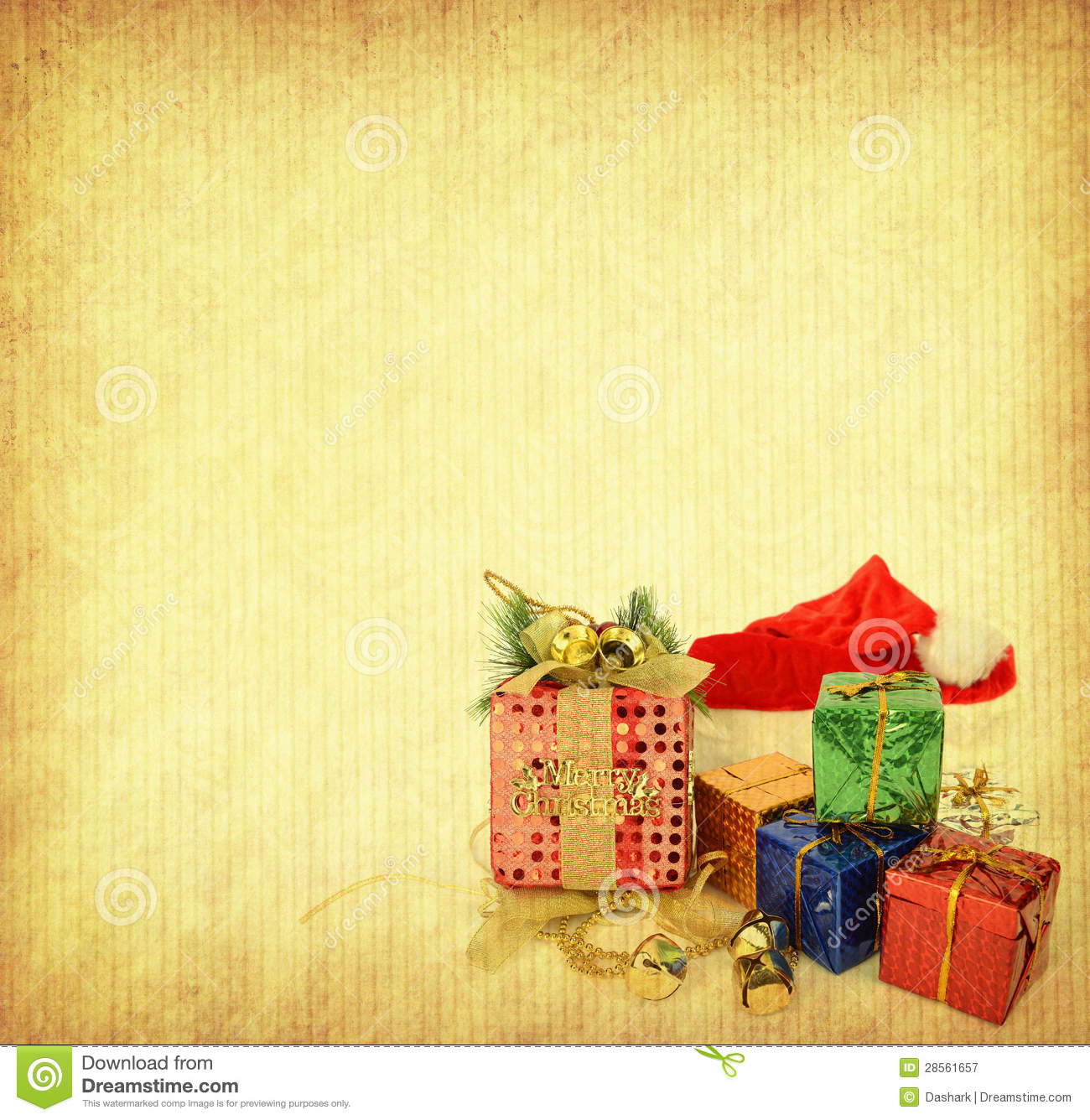 Vintage Christmas Background Royalty Free Stock ...