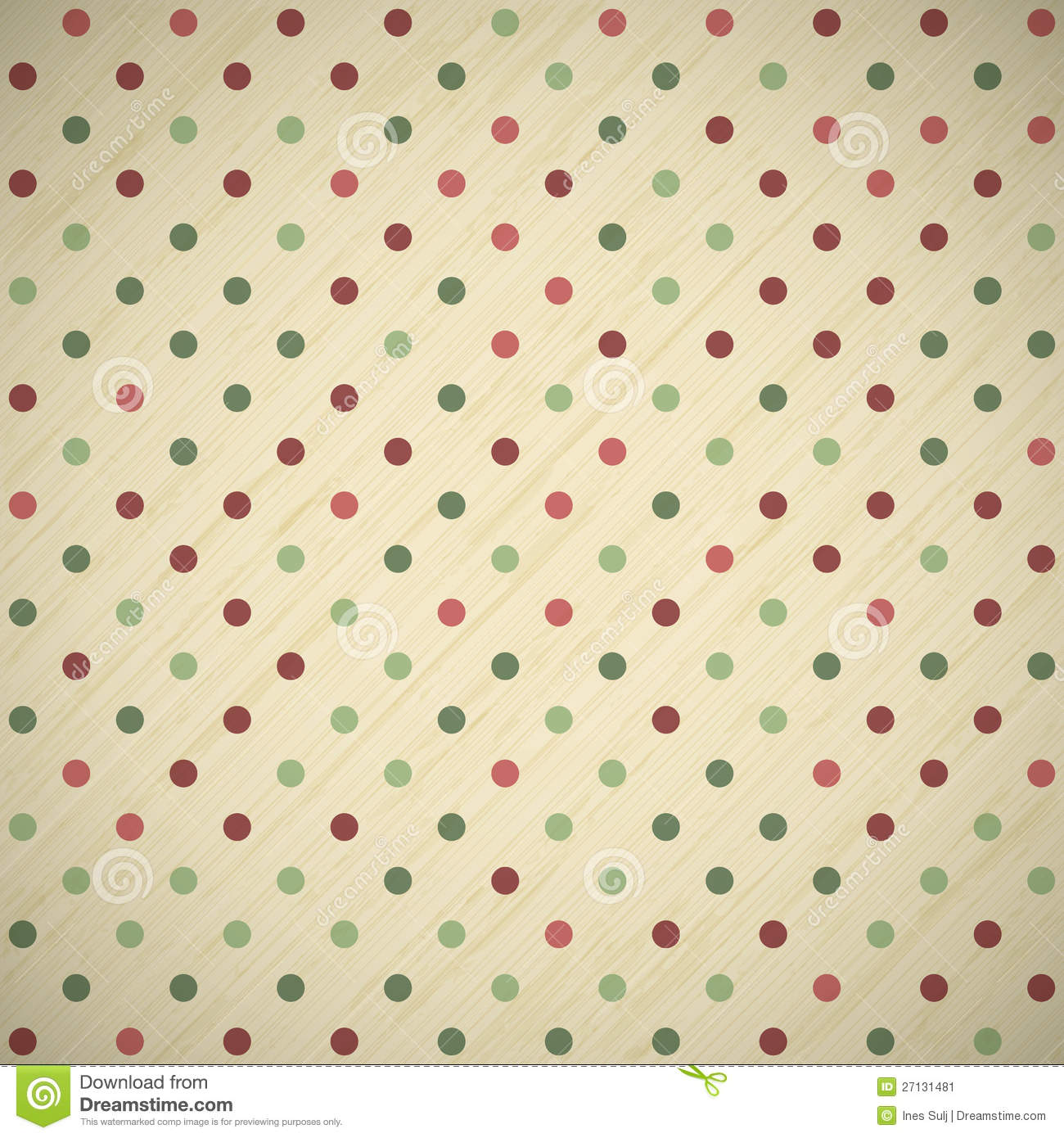 Vintage Christmas Card Background Stock Vector