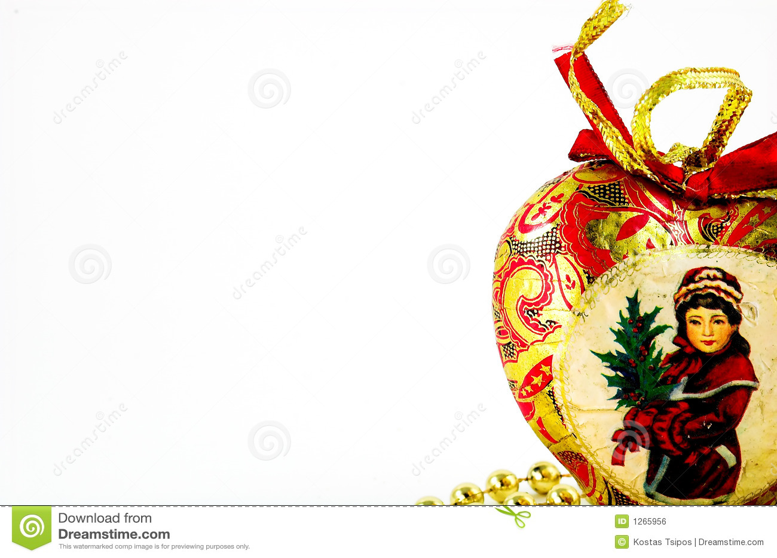 Vintage Christmas Heart Royalty Free Stock Image - Image ...