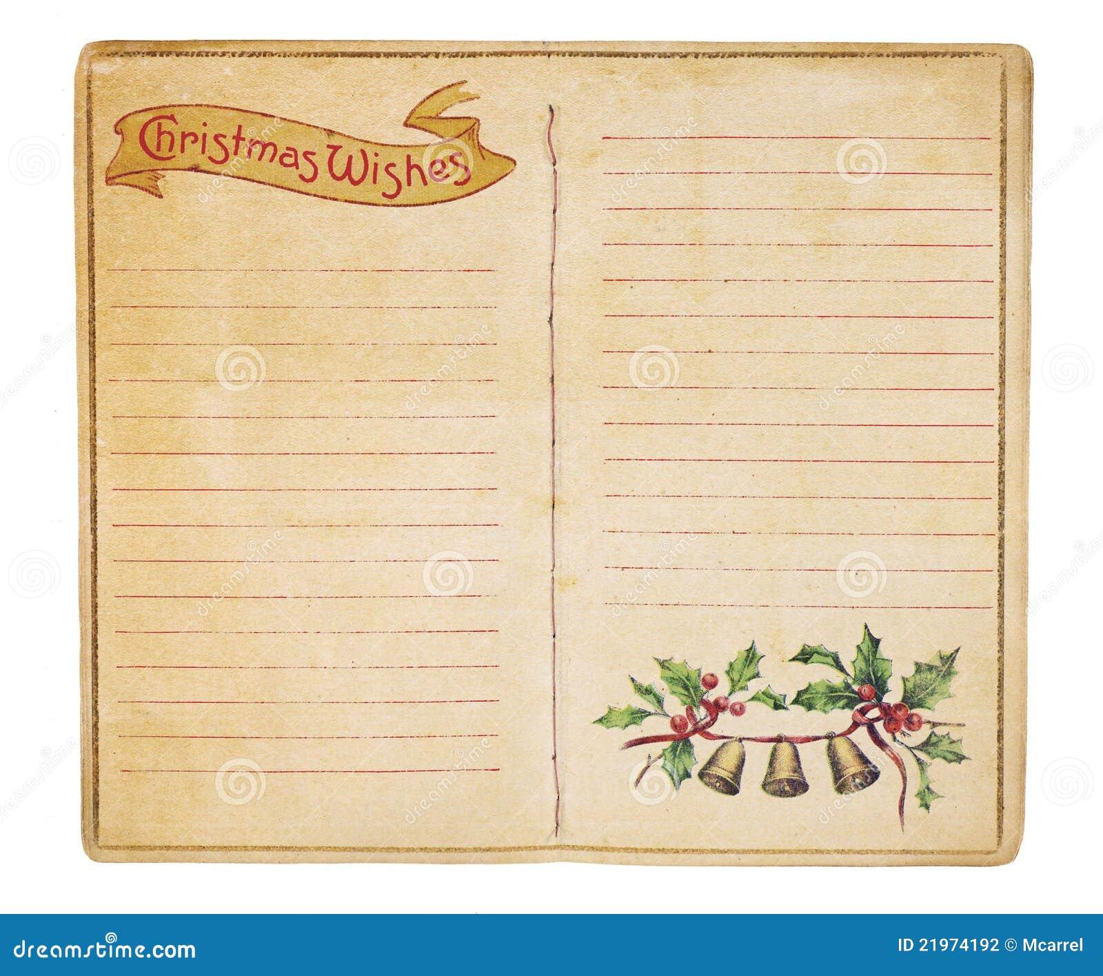 blank christmas wish list 2018