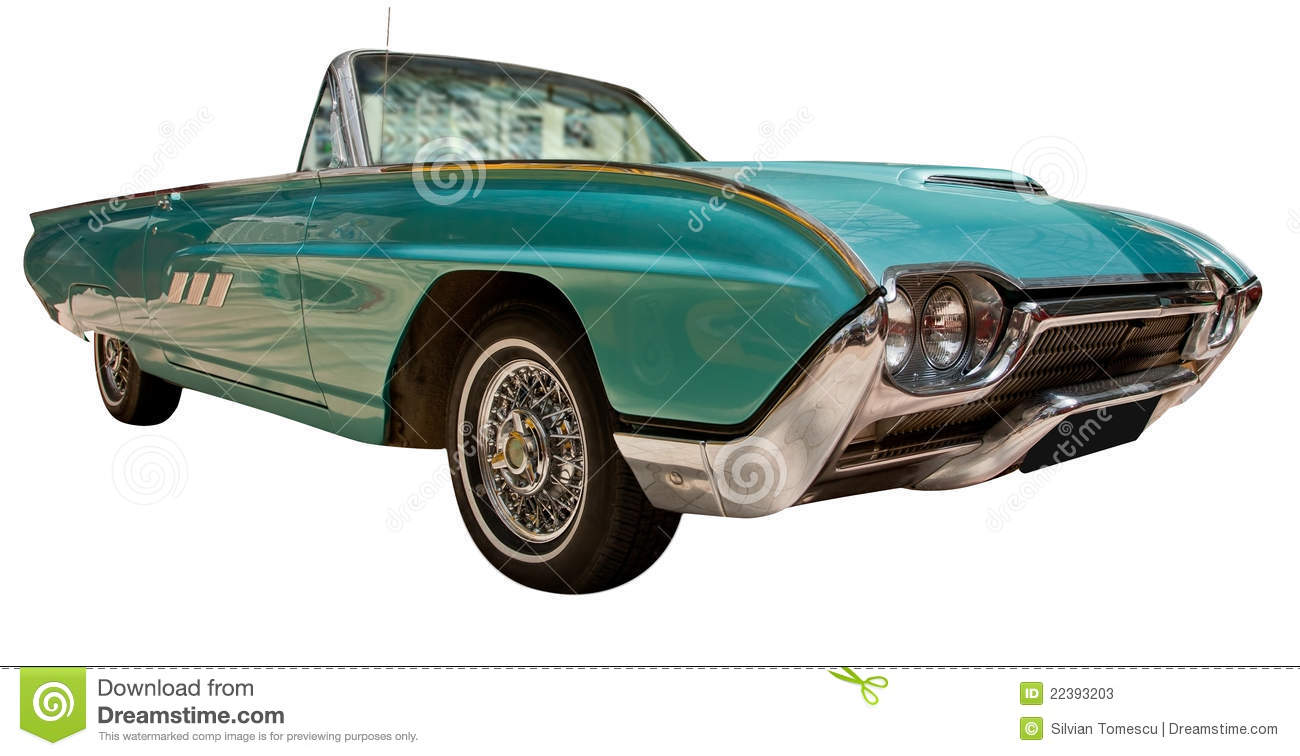 Vintage classic american convertible car stock photos for Classic american convertibles