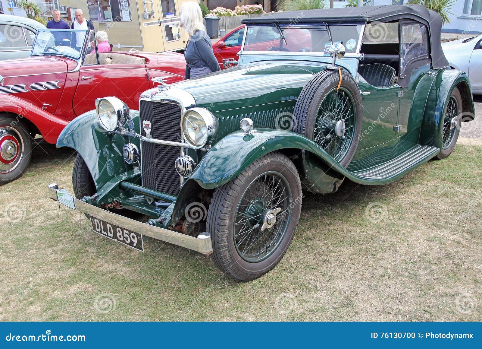 Vintage Classic British Alvis Editorial Image Image Of Classic - Ideal classic cars car show