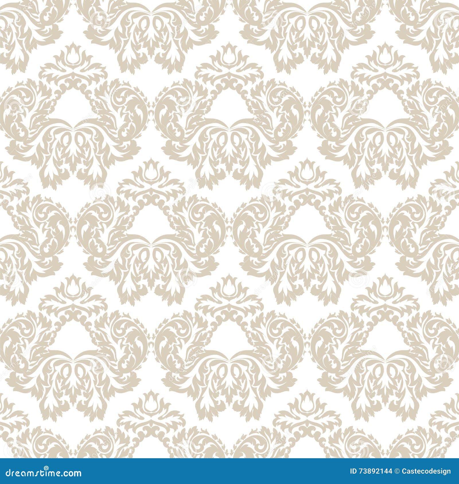 rococo motif vintage floral - photo #6