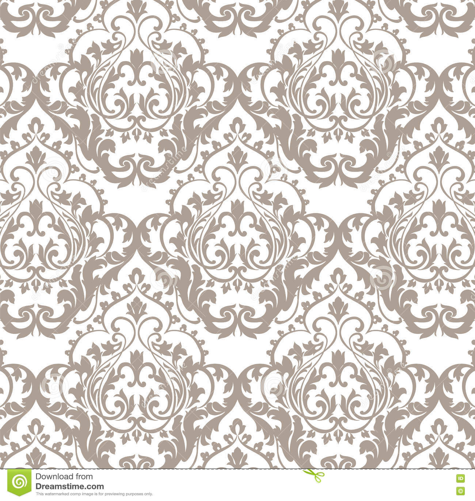 rococo motif vintage floral - photo #7