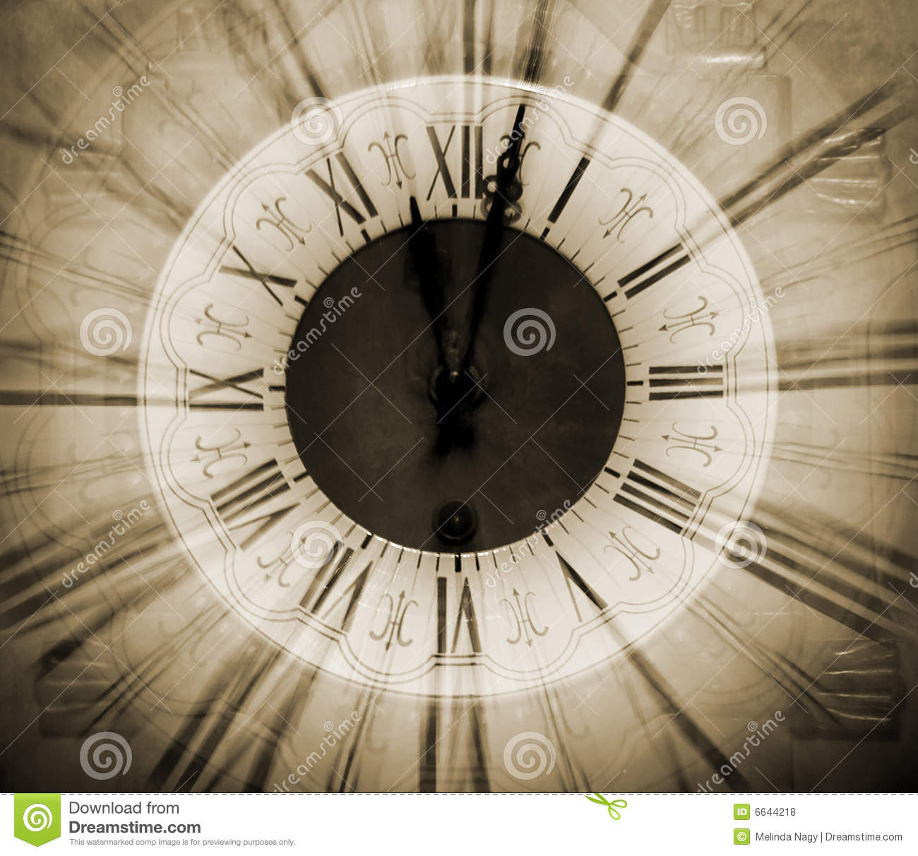 vintage clock blurred in royalty free stock photos
