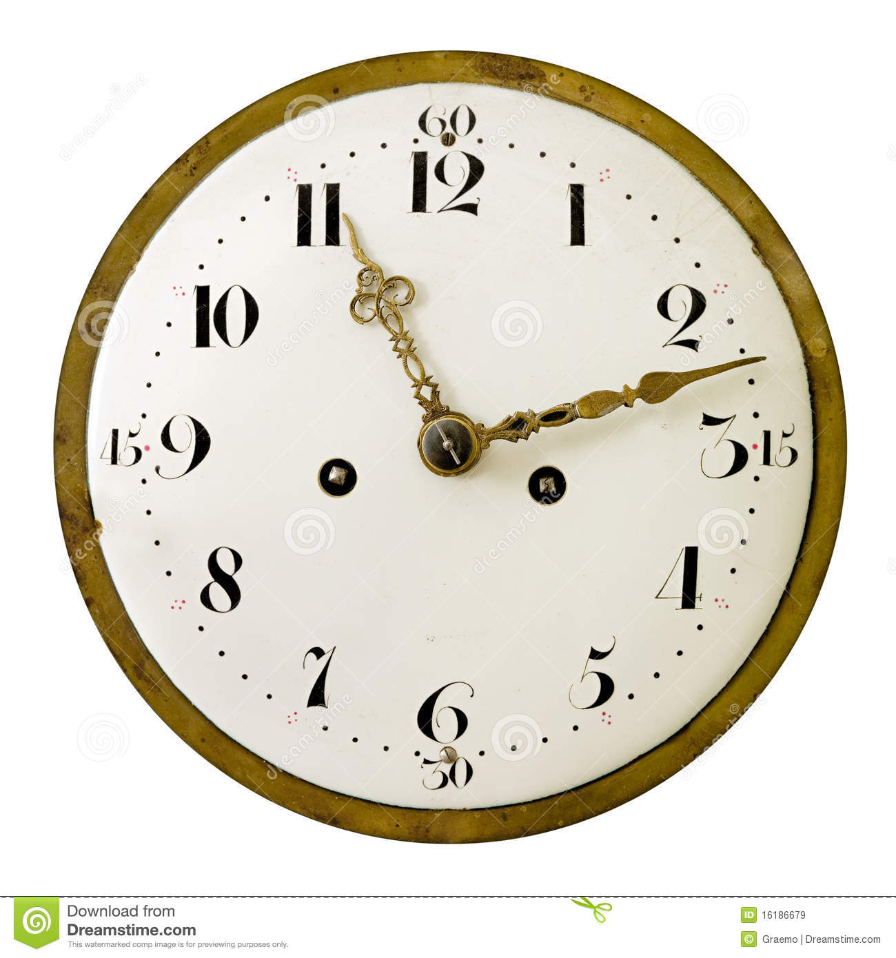 vintage clock face stock image. image of hand, drawn - 16186679