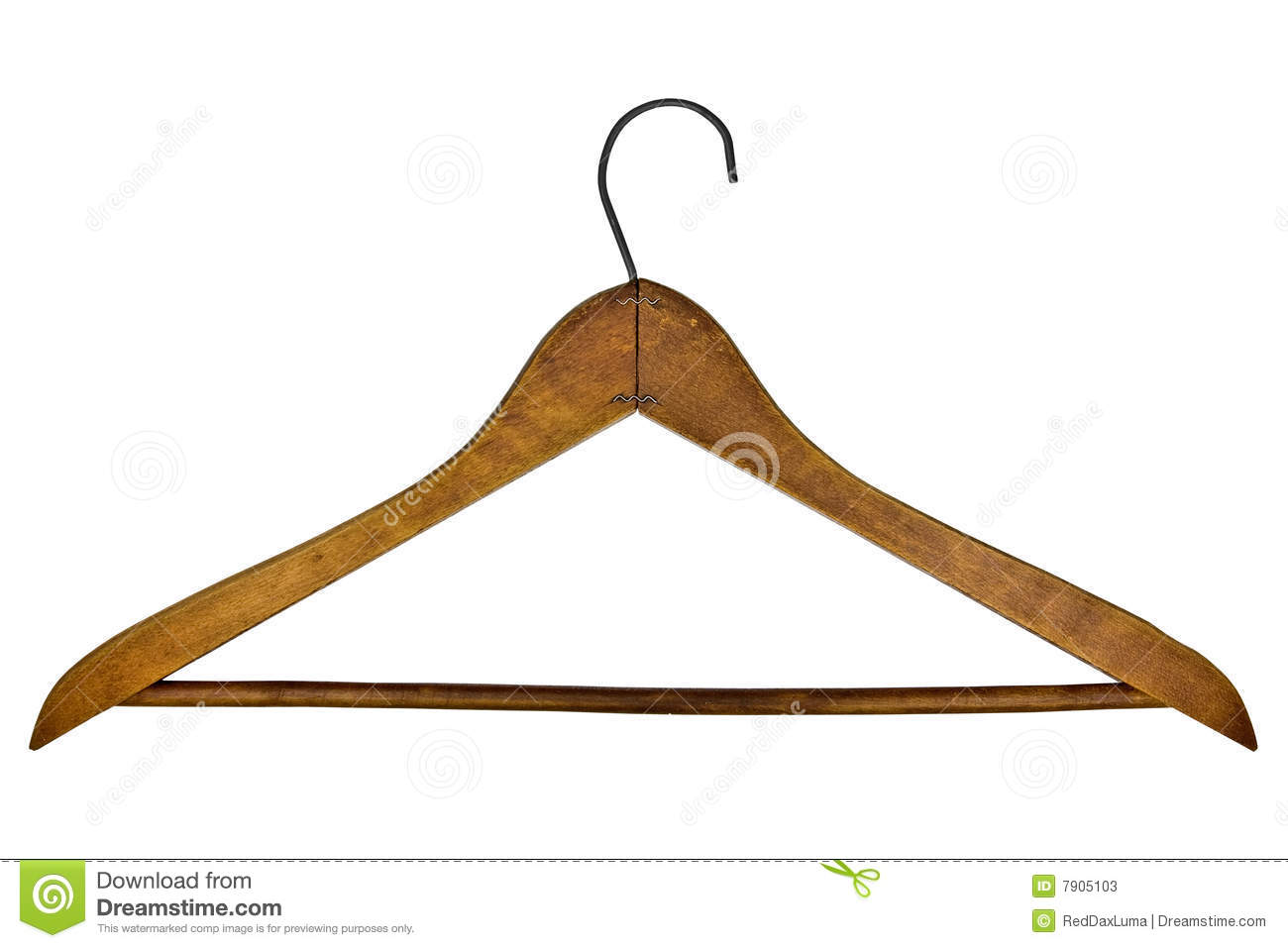 vintage clothes hanger stock photos image 7905103