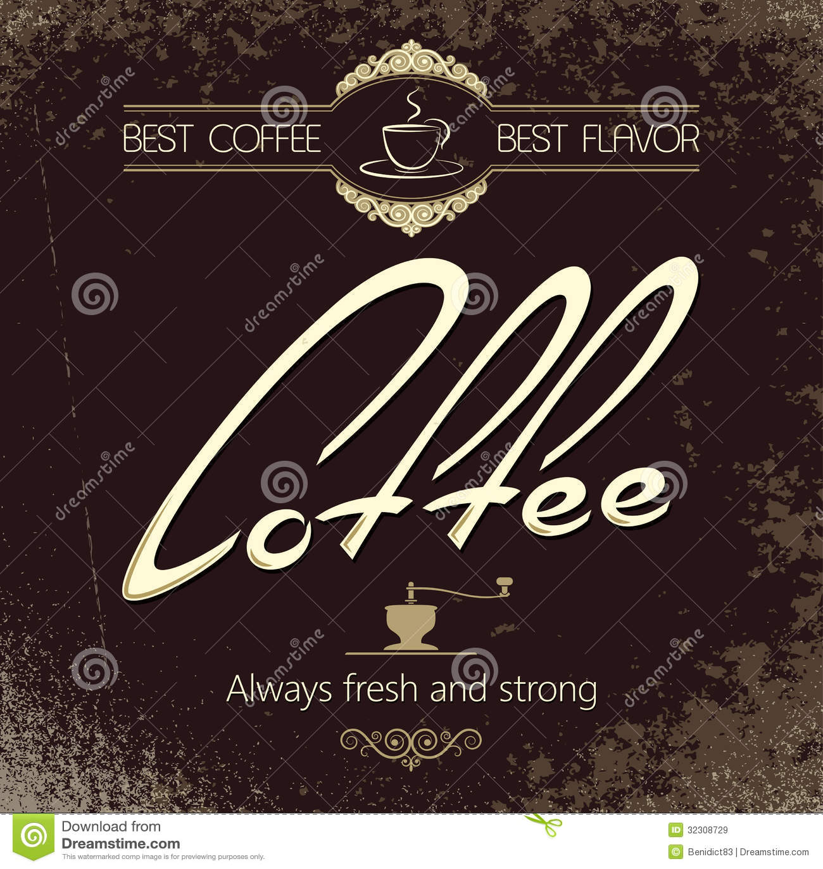 vintage coffee menu background royalty free stock images