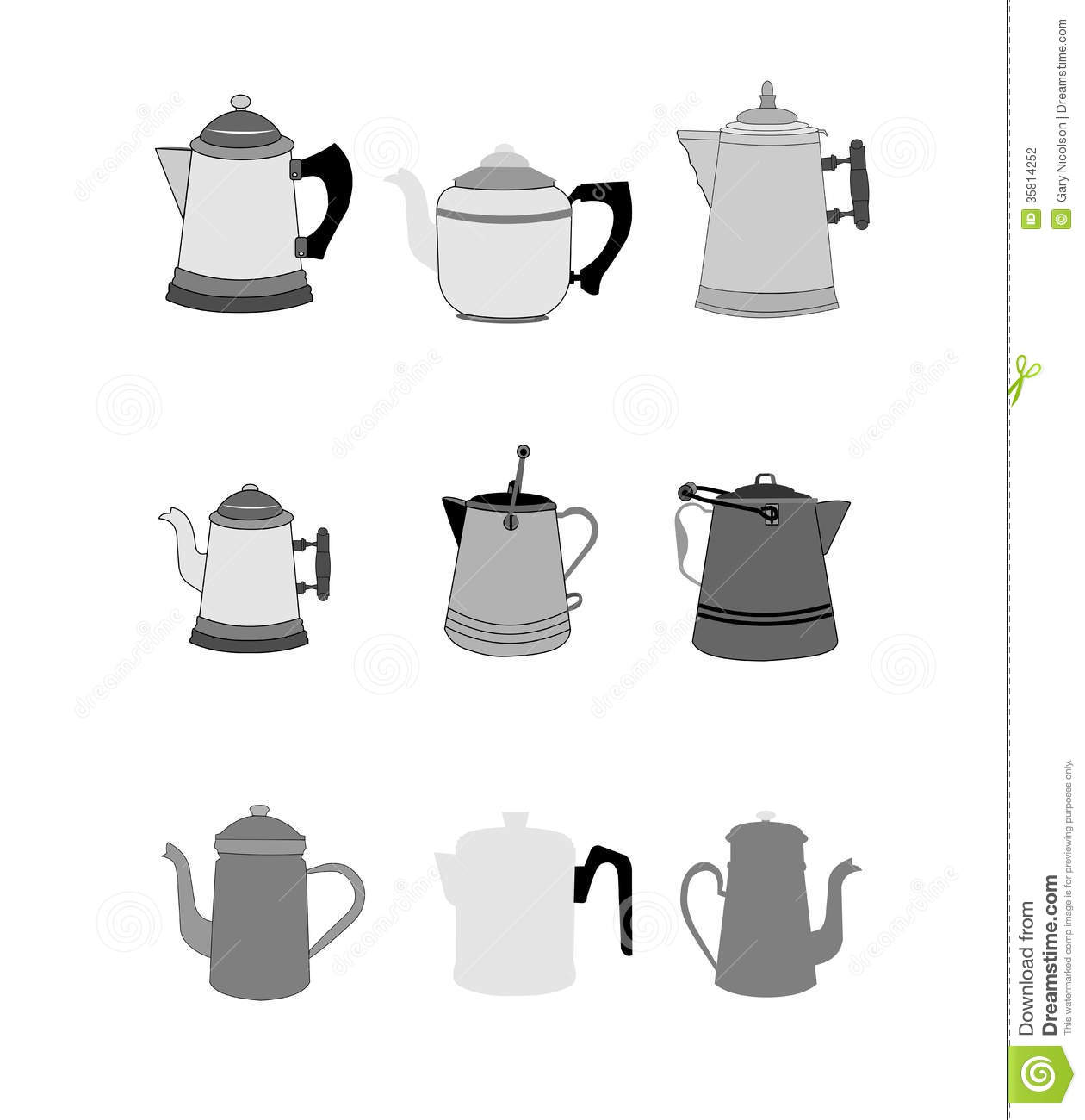 Old Coffee Pot Clip Art Images Gallery