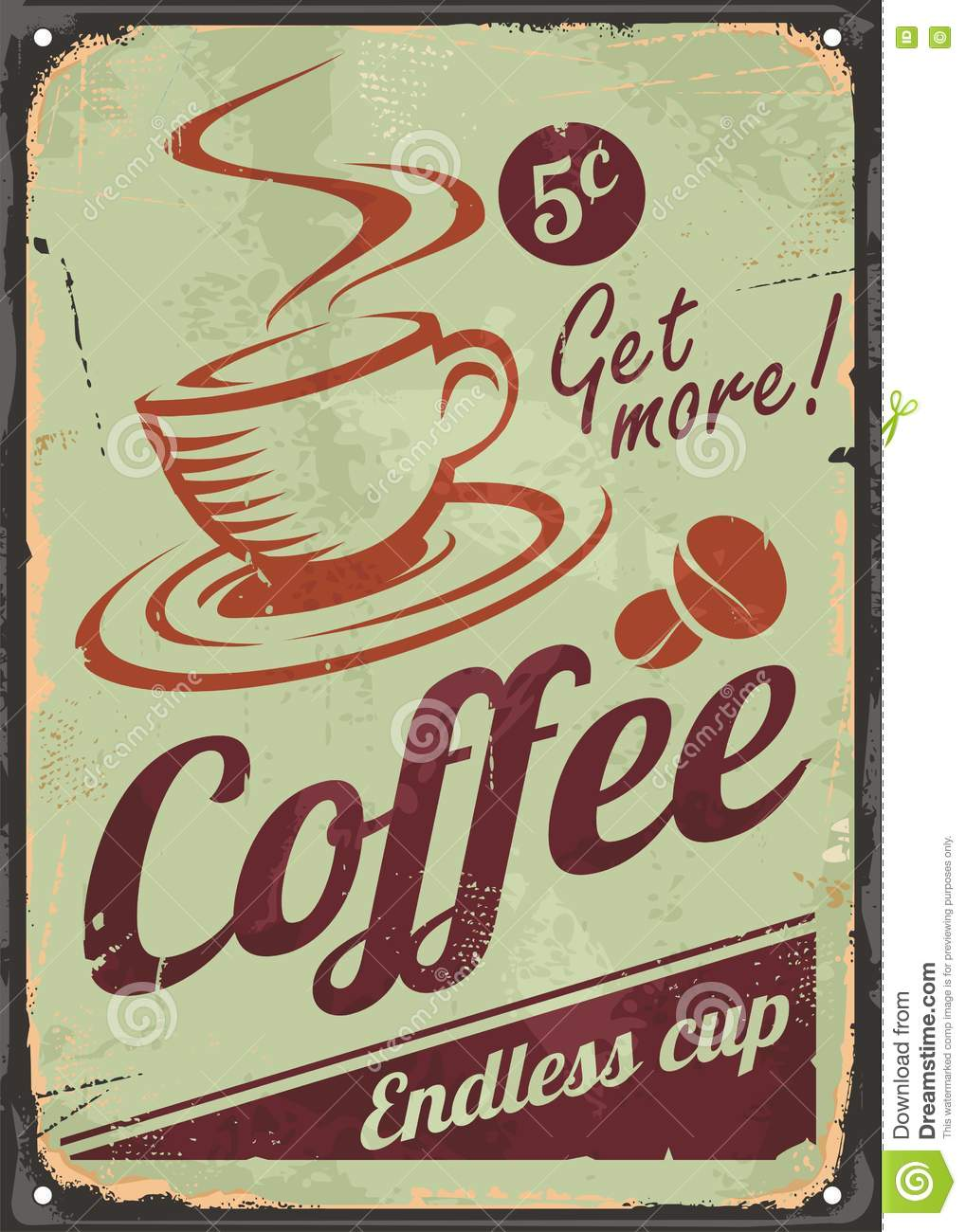Old Coffee Signs