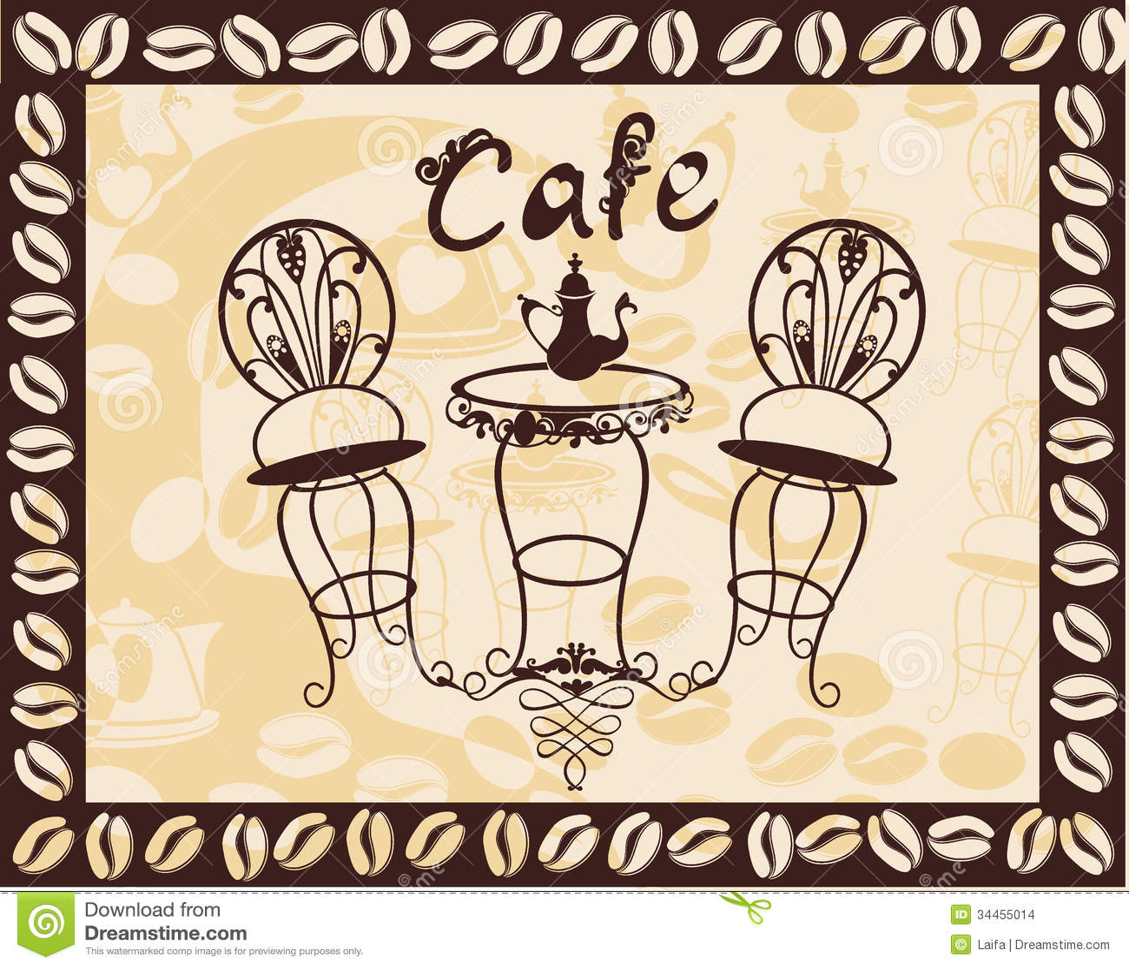 Gallery For gt Vintage Cafe Sign
