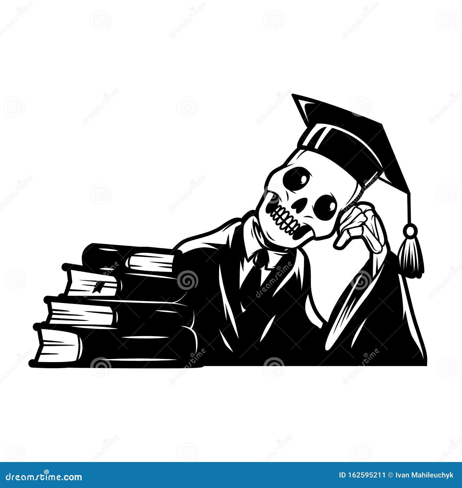 Skeleton Graduation Stock Illustrations – 50 Skeleton Graduation Stock  Illustrations, Vectors & Clipart - Dreamstime