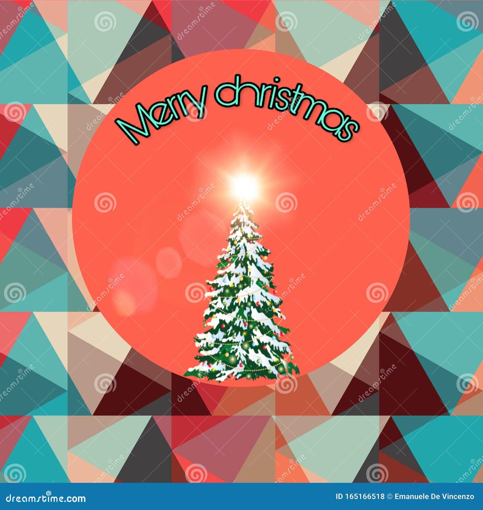 Vintage Colors Christmas Postcard Stock Photo Image Of Merrychristmas Vintage 165166518