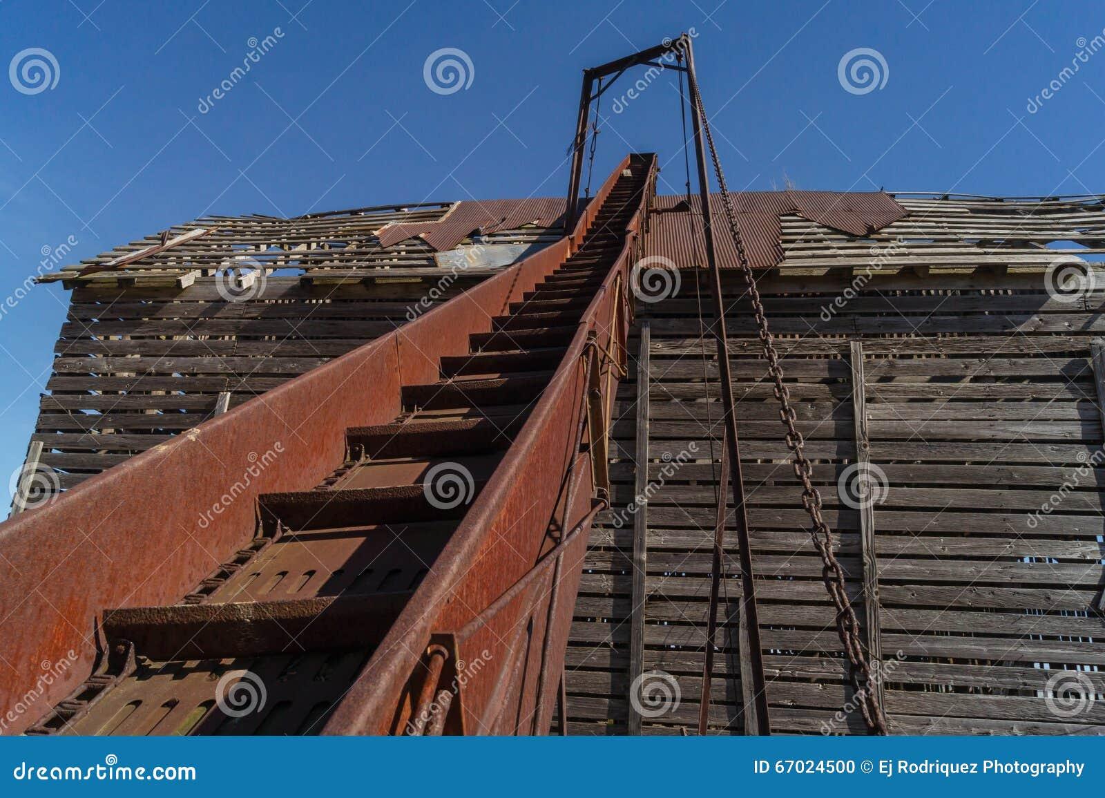 Vintage Conveyor  stock photo  Image of lasalle, farmhouse - 67024500