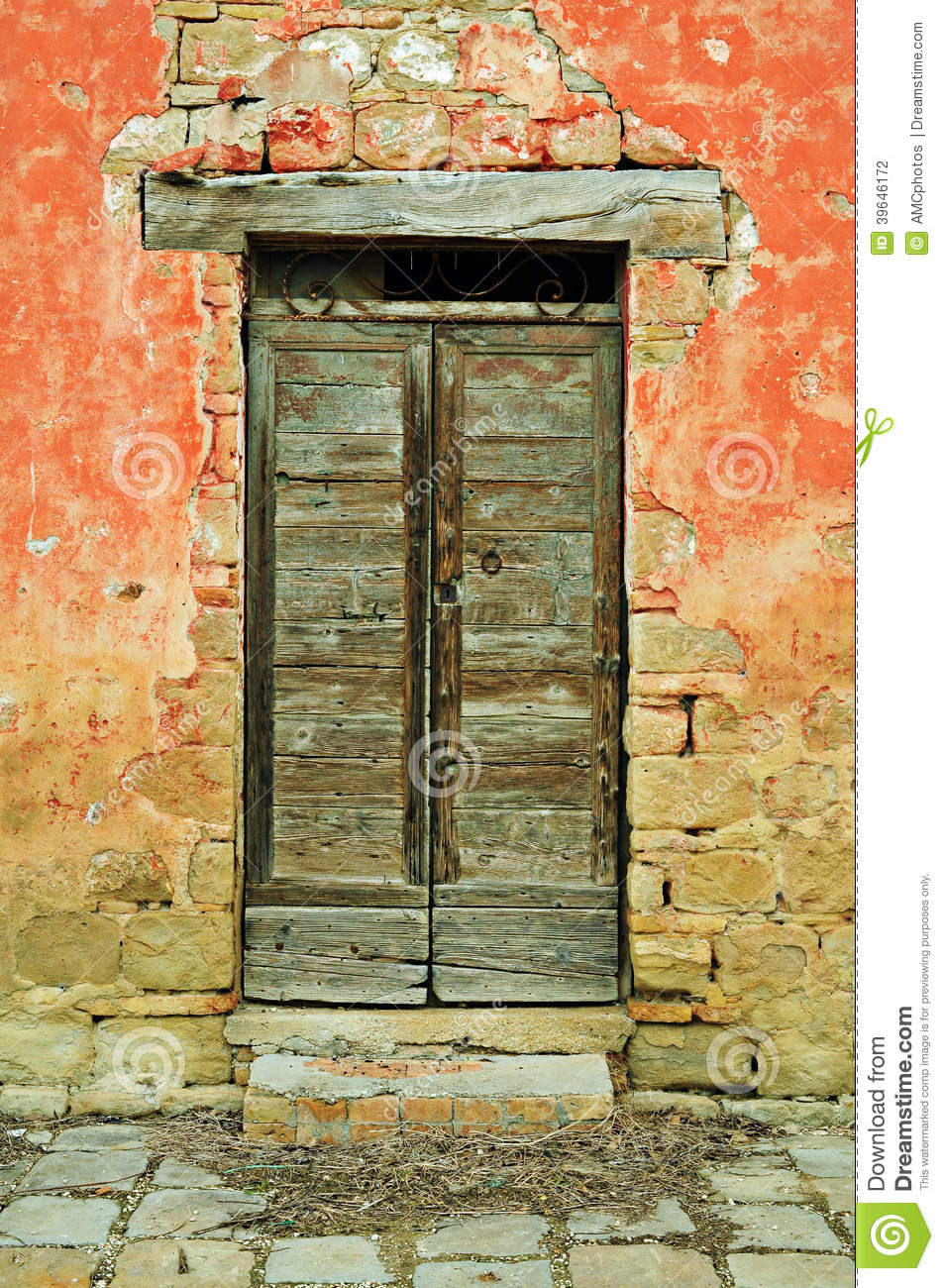 Vintage country door & Vintage Country Door Stock Photo - Image: 39646172 Pezcame.Com
