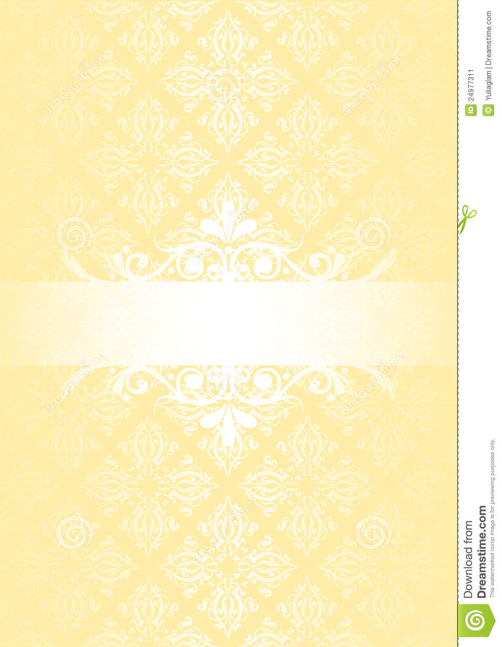 Vintage Cream Background Stock Image Image 24977311