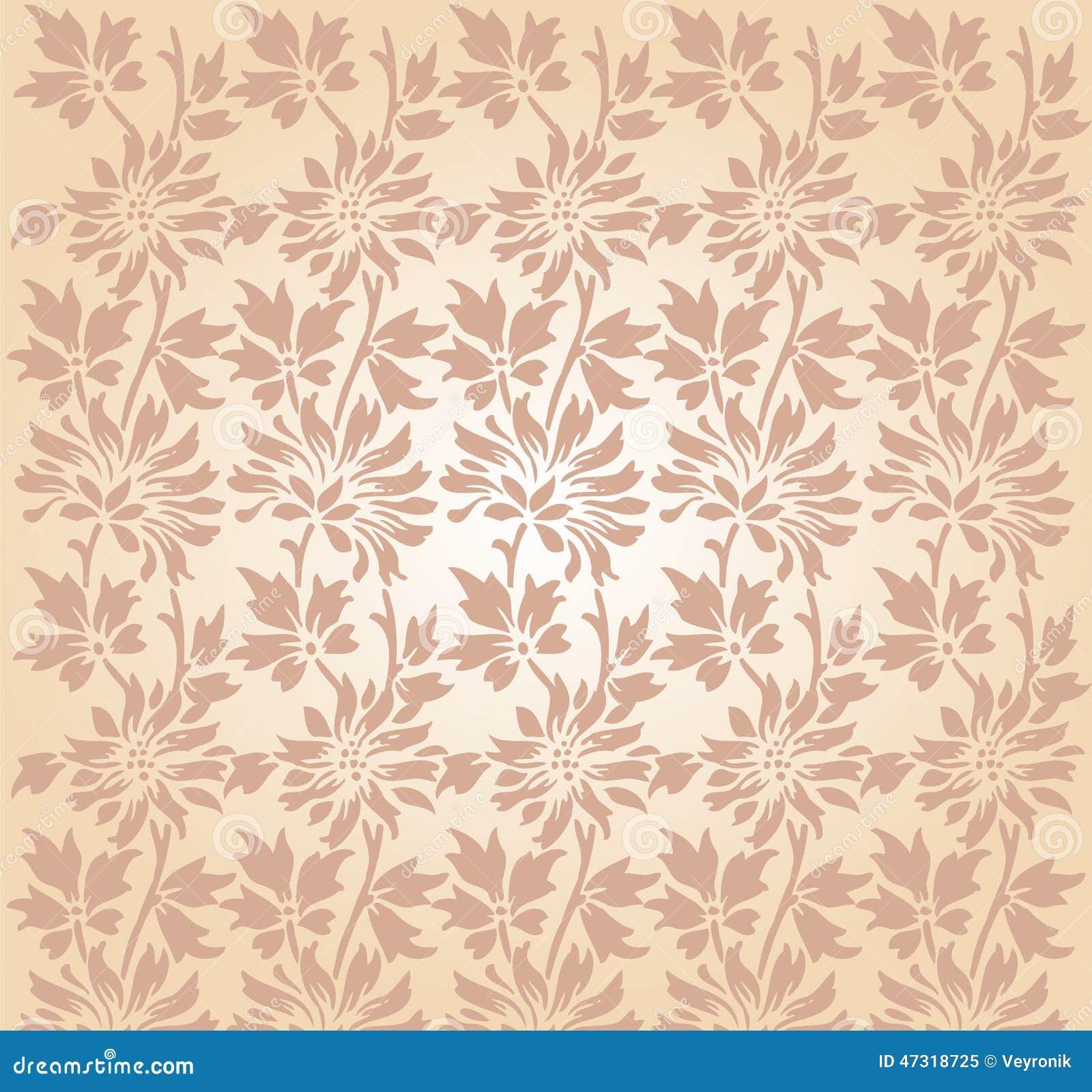 antique cream wallpaper - photo #14