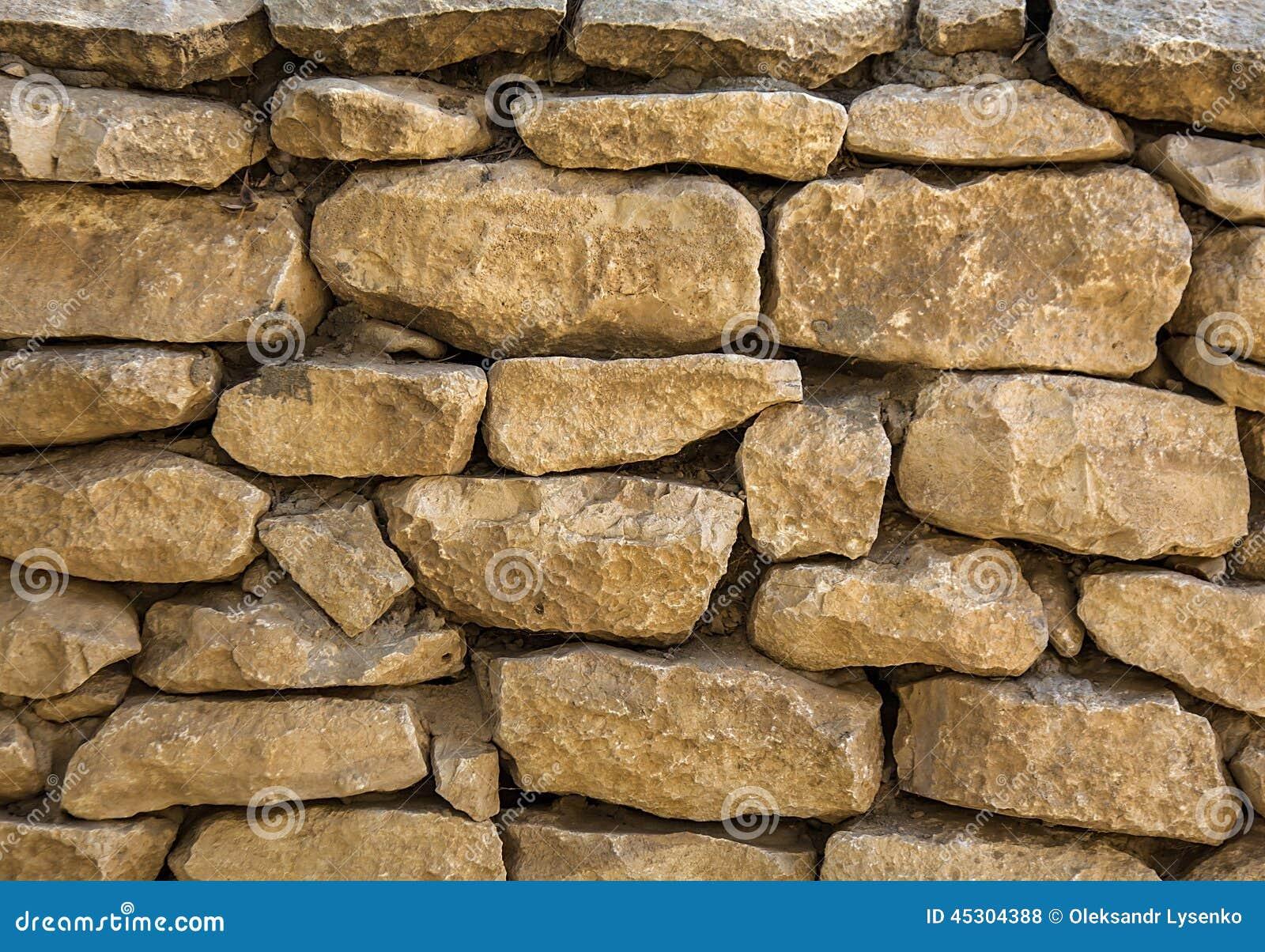 Vintage de piedra natural de la levantamiento de muros - Muro de piedra natural ...
