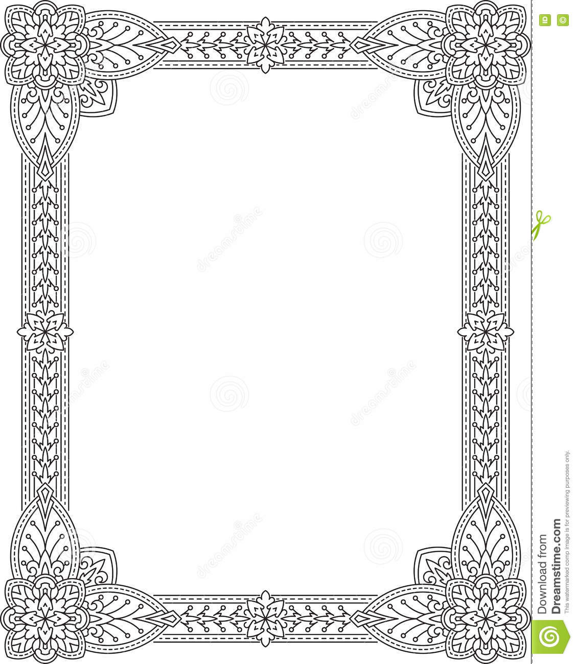 Vintage decorative frame can be used for retro vintage greetin can be used for retro vintage greetin classic design kristyandbryce Choice Image