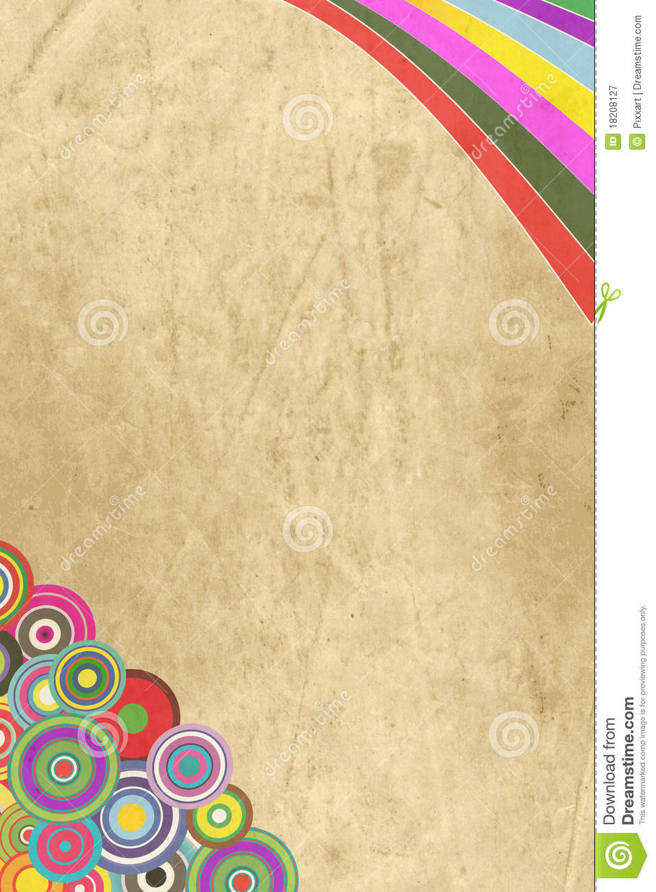 vintage decorative paper royalty free stock photography