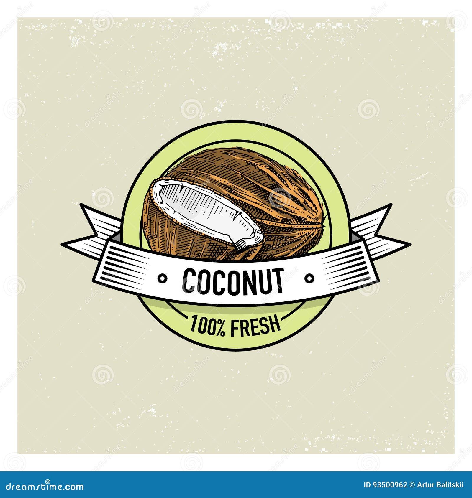 El coco es una fruta citrica