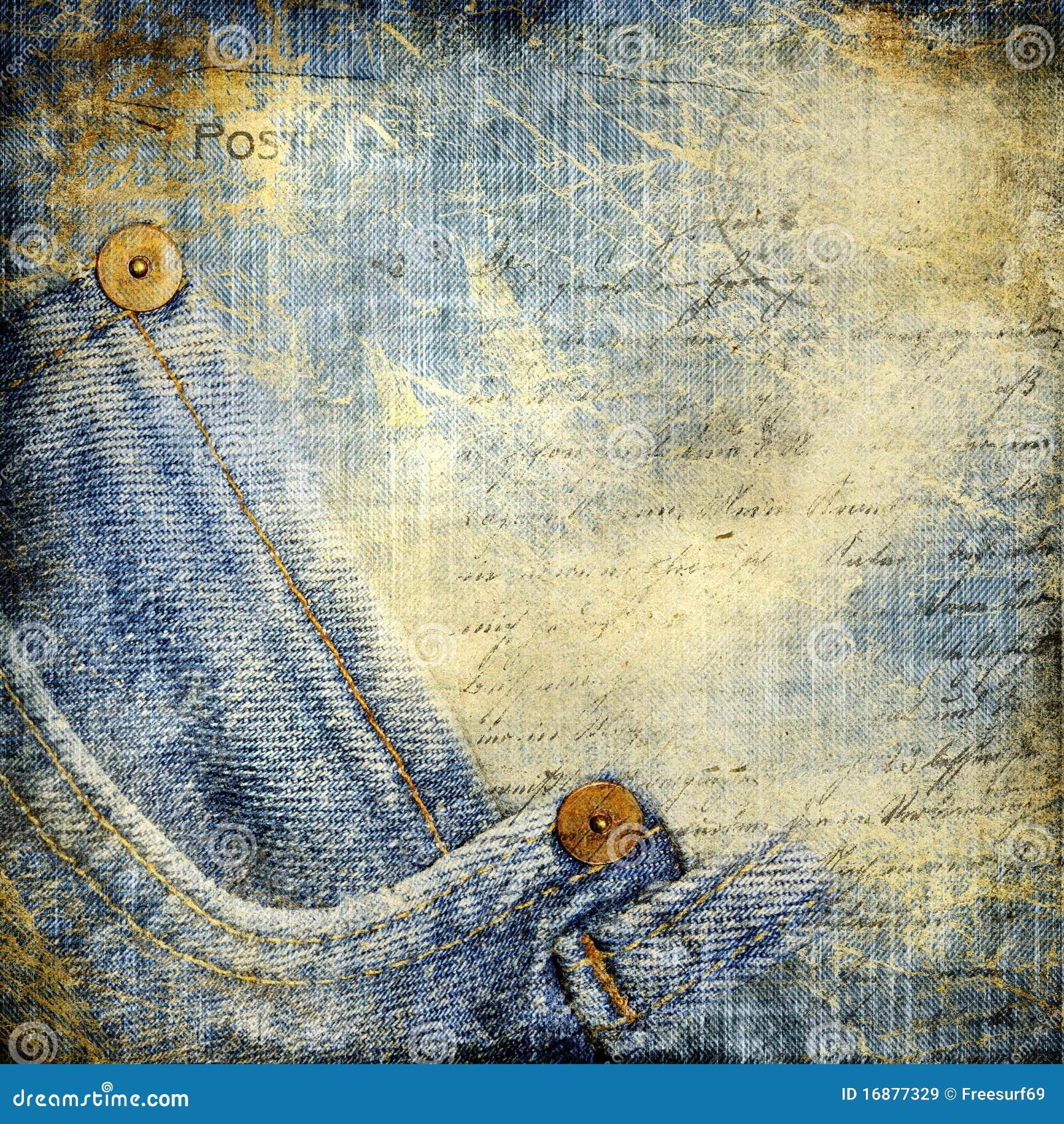 vintage denim stock illustration image of pattern
