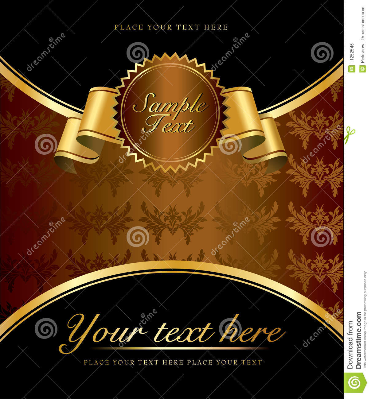 vintage design template stock vector  illustration of hotel