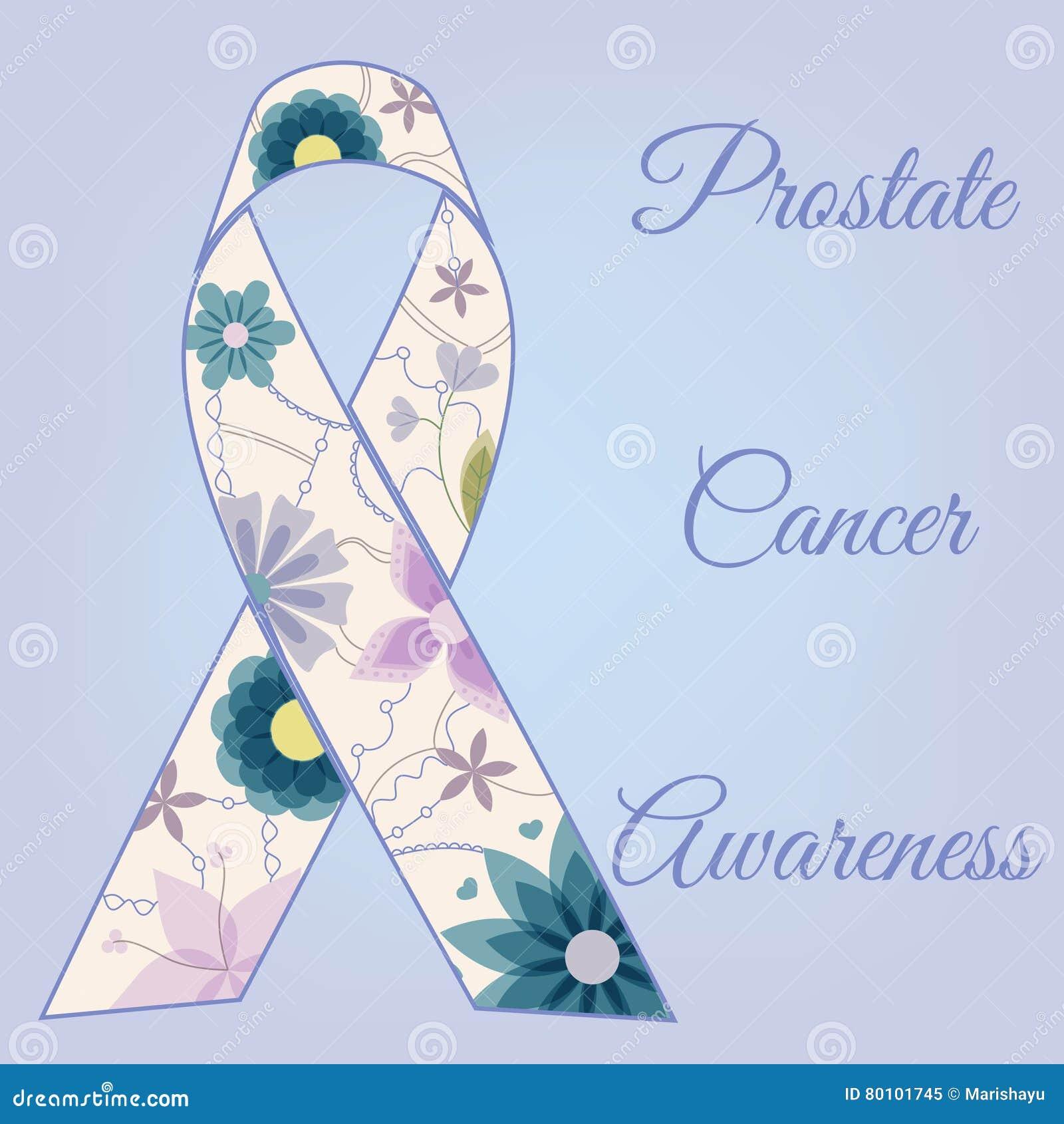 Vintage do fundo da conscientização do câncer da próstata
