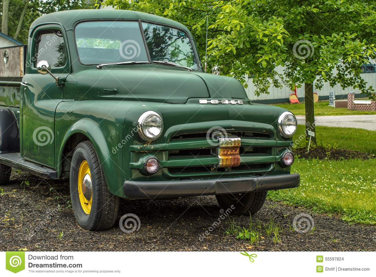 Used Dodge Lexington >> Vintage Dodge Pick Up Truck Editorial Stock Image - Image: 55597824