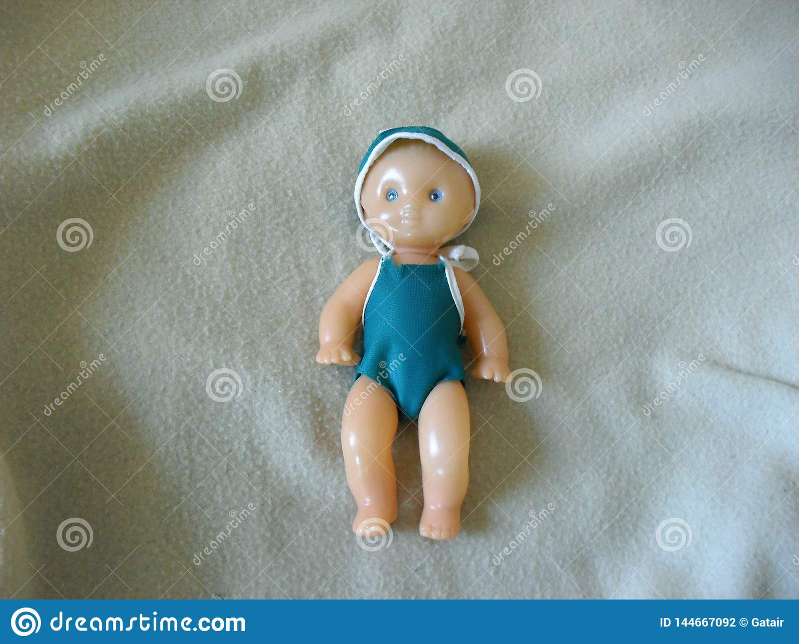 Vintage doll baby Vertical
