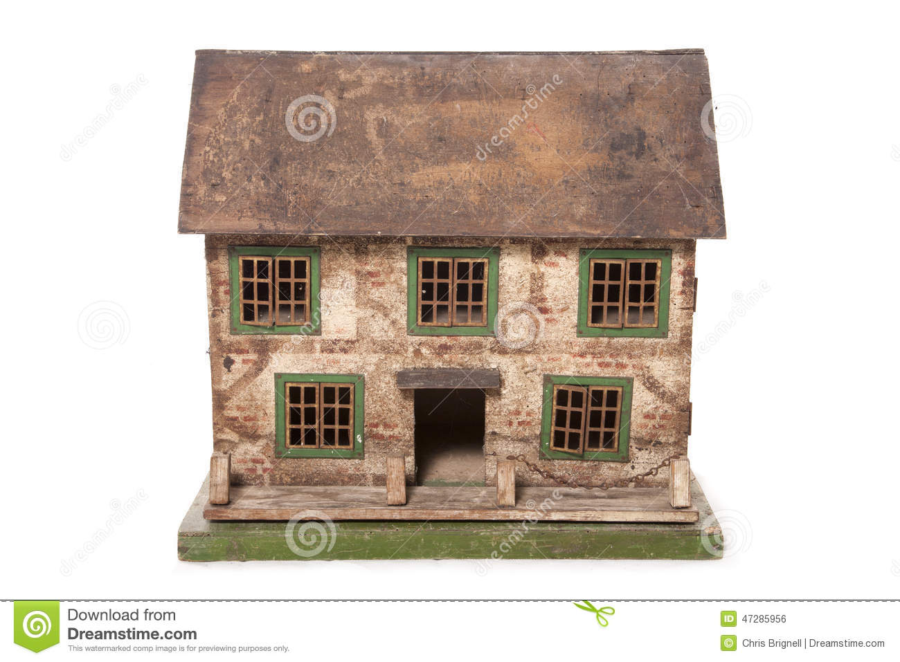 Vintage Dolls House Stock Photo Image Of Cutout Wendy