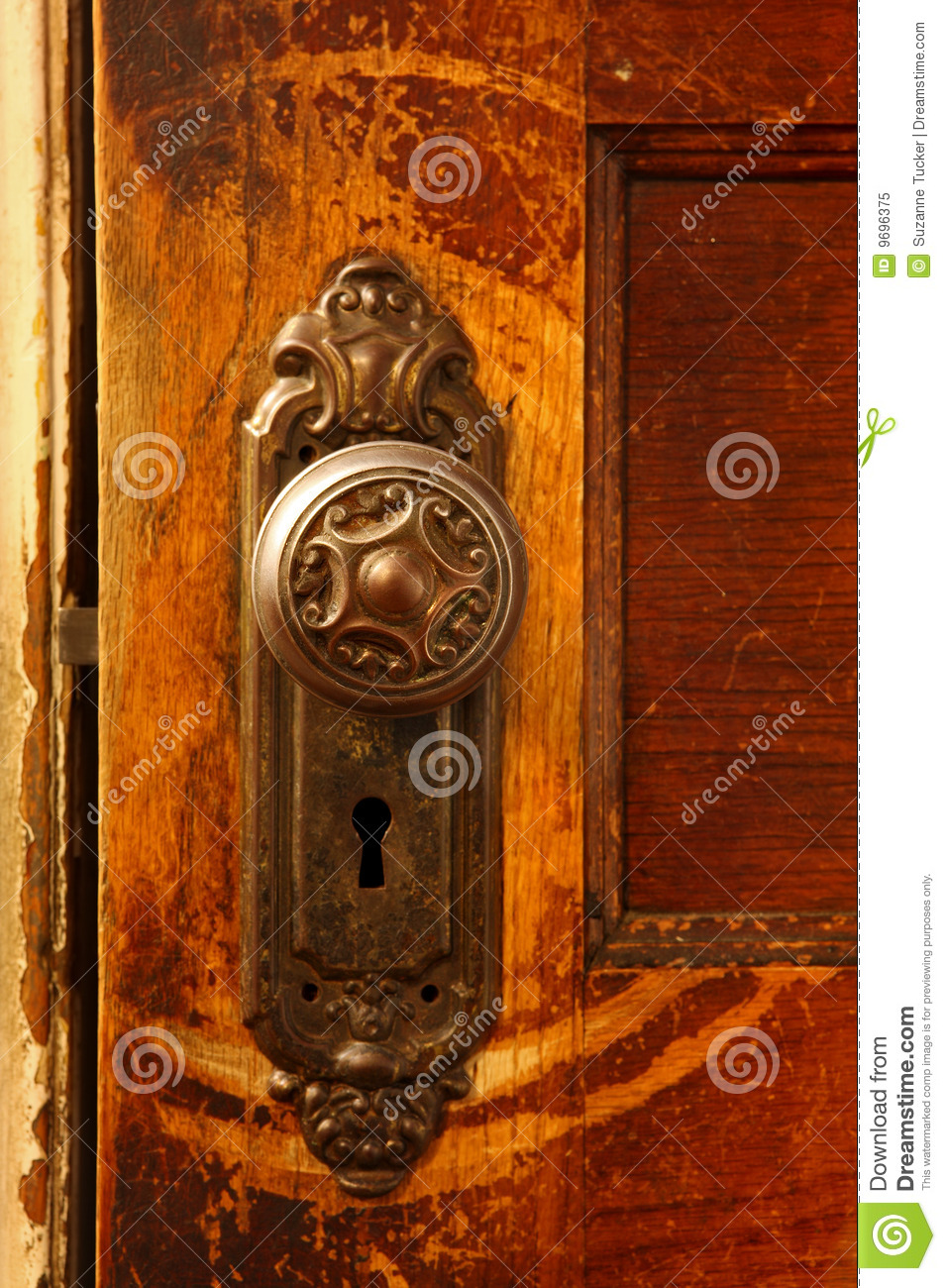 Vintage Door Knob Stock Image Image Of Doorknob Entry
