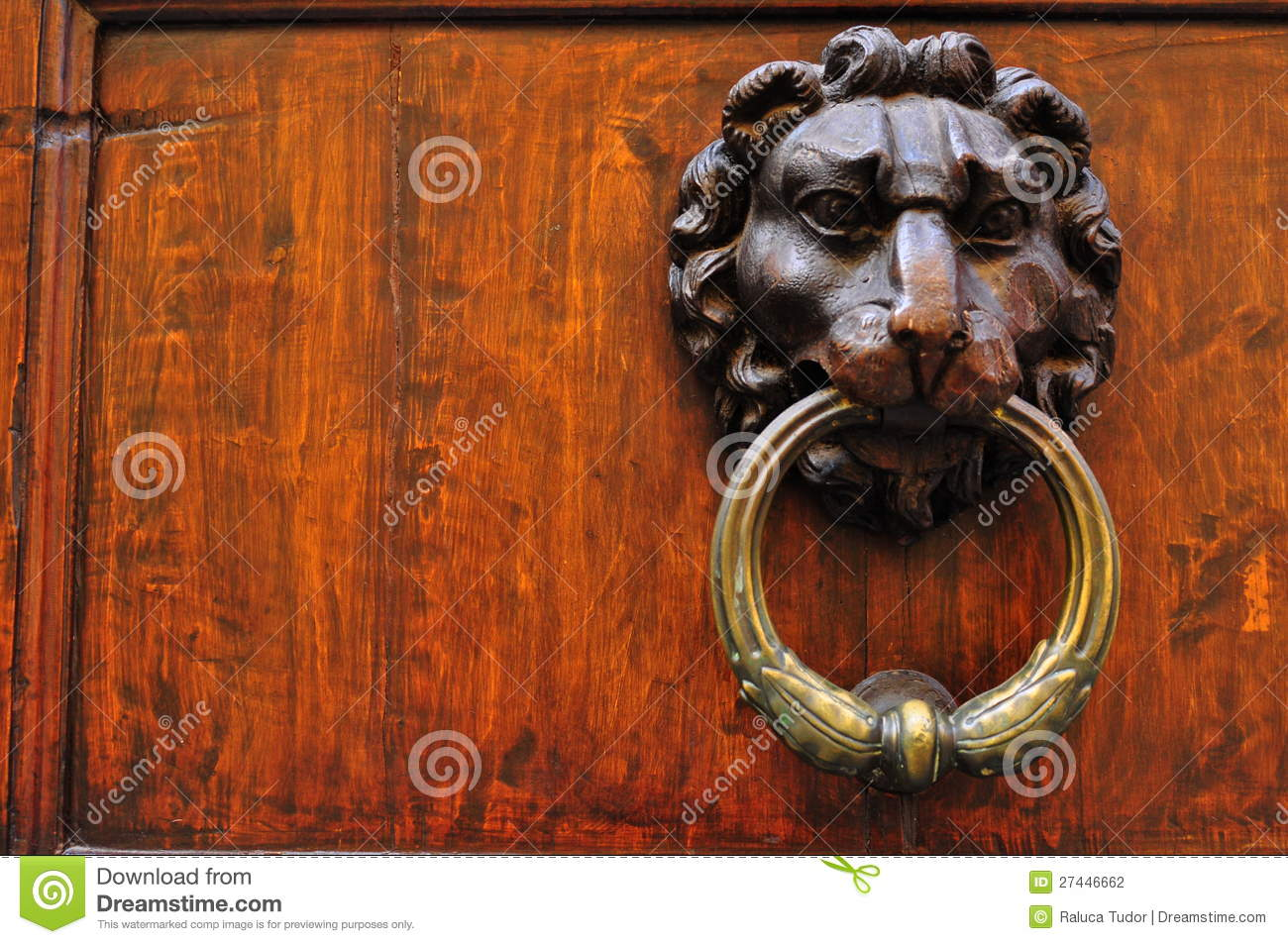 Vintage Door Knob In Italy Stock Photography Image 27446662