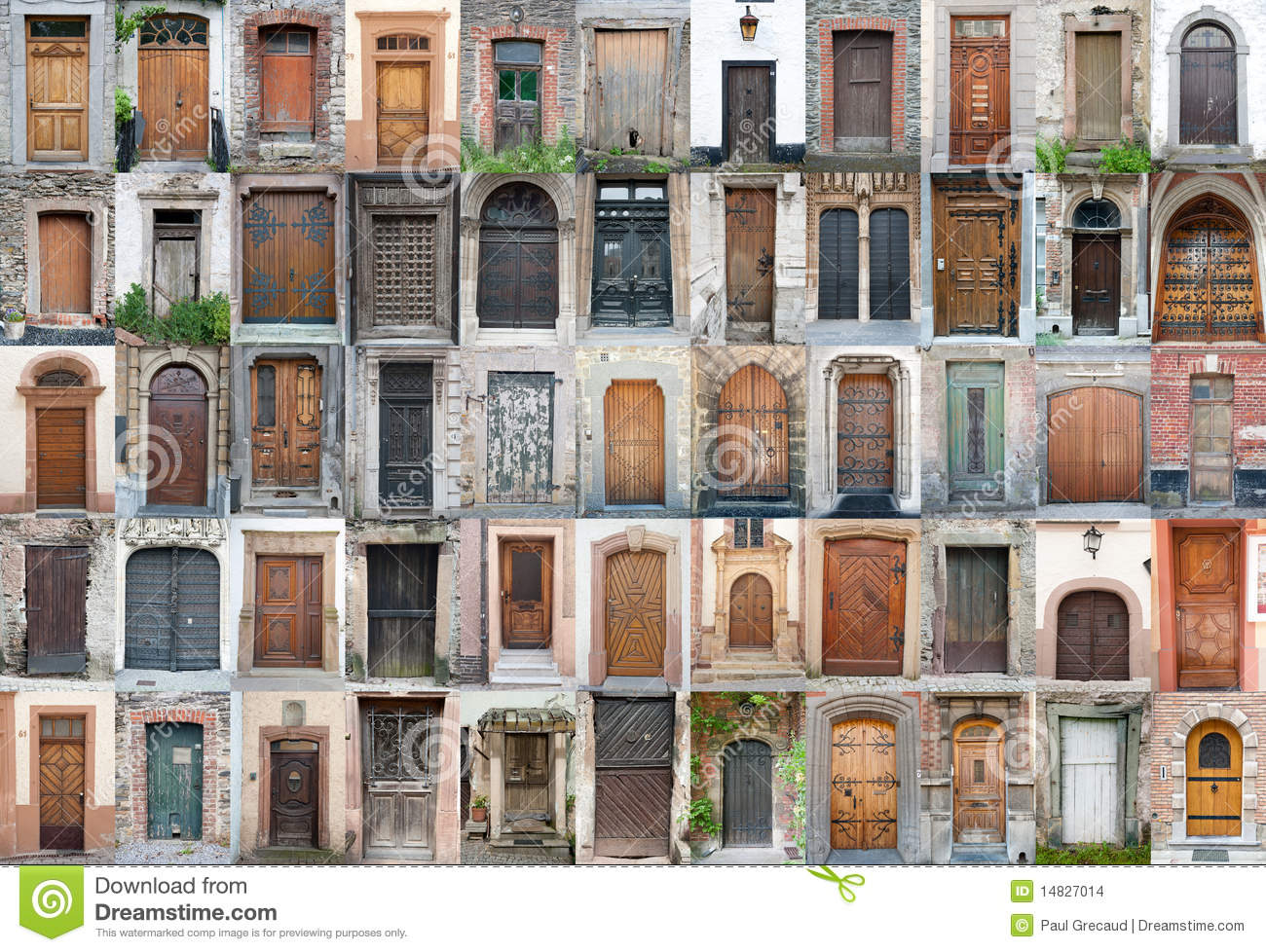 Vintage doors and gates set 1 stock photo image 14827014 for Doors and doors