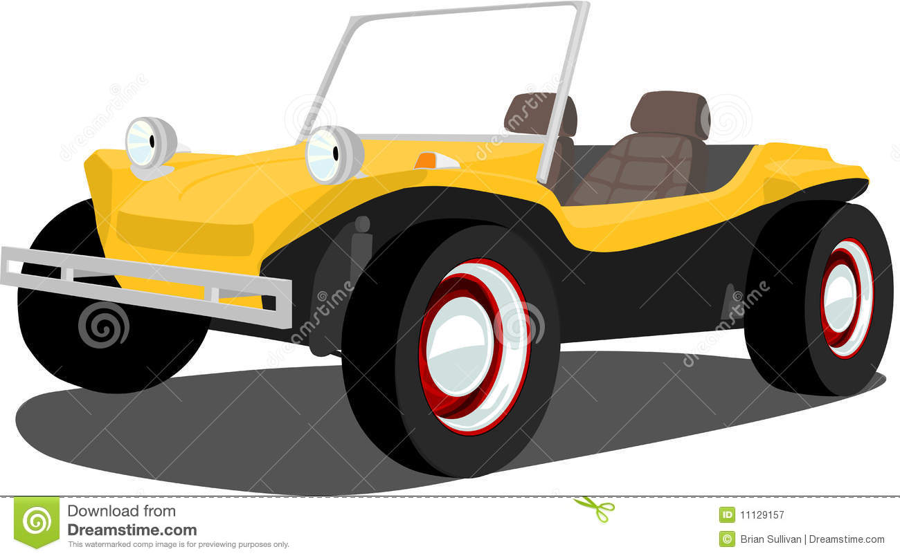 Vintage Dune Buggy stock vector  Illustration of glossy
