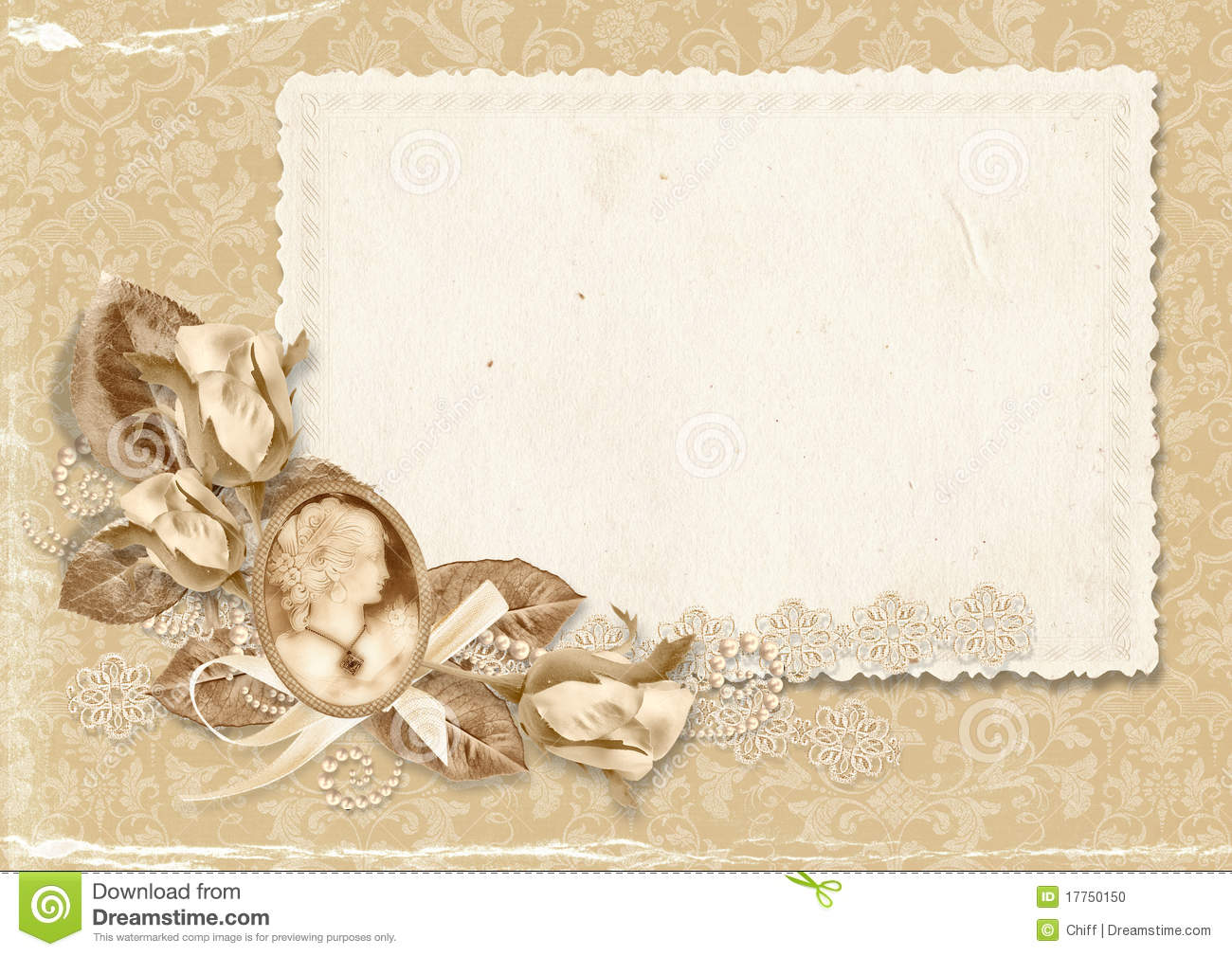 Transparent Old Fashioned Floral Png