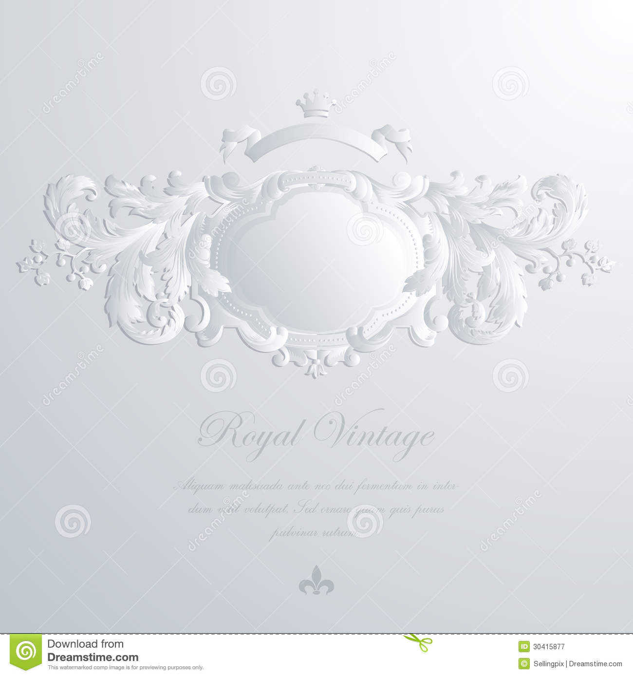 Vintage Elegant Greeting Card Amp Wedding Invitation Royalty