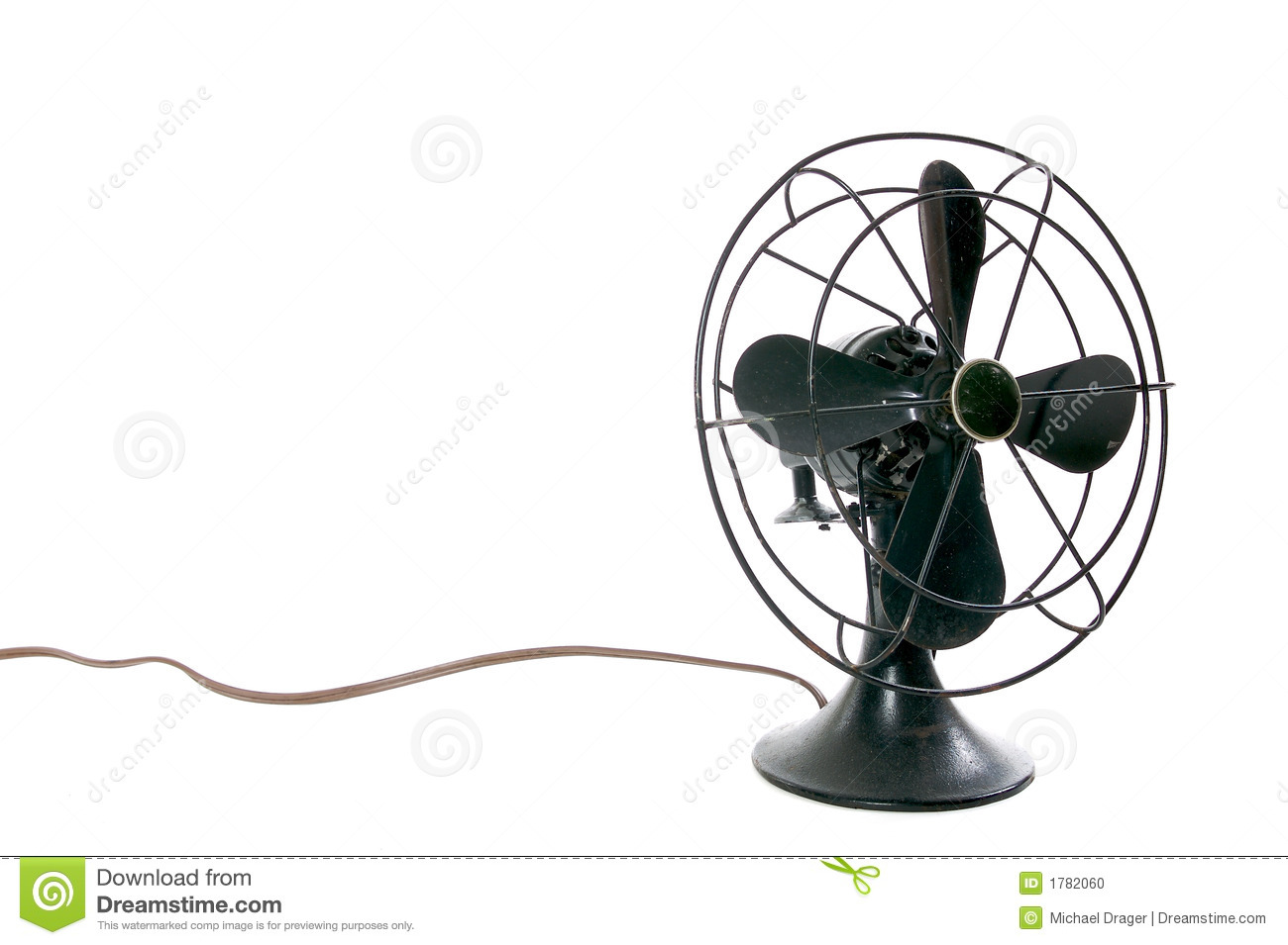 Vintage Fan vintage fan stock photo - image: 1782060