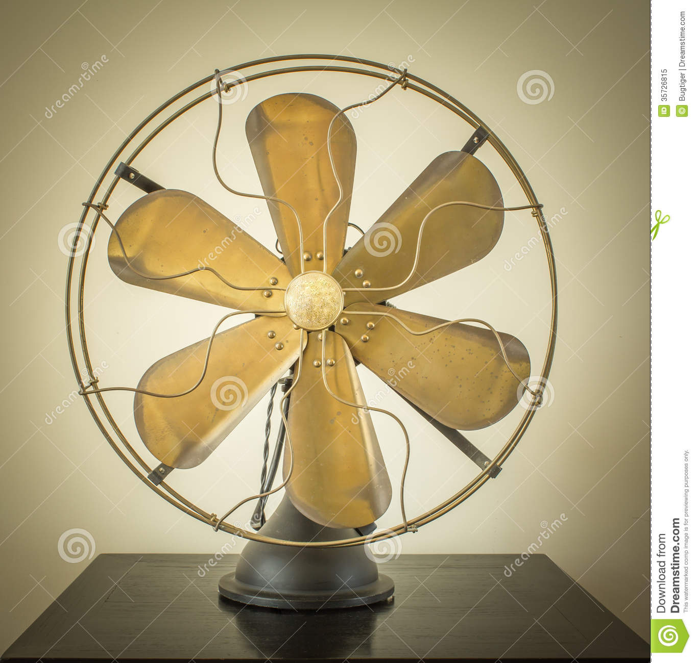 Vintage Fan Royalty Free Stock Photo Image 35726815