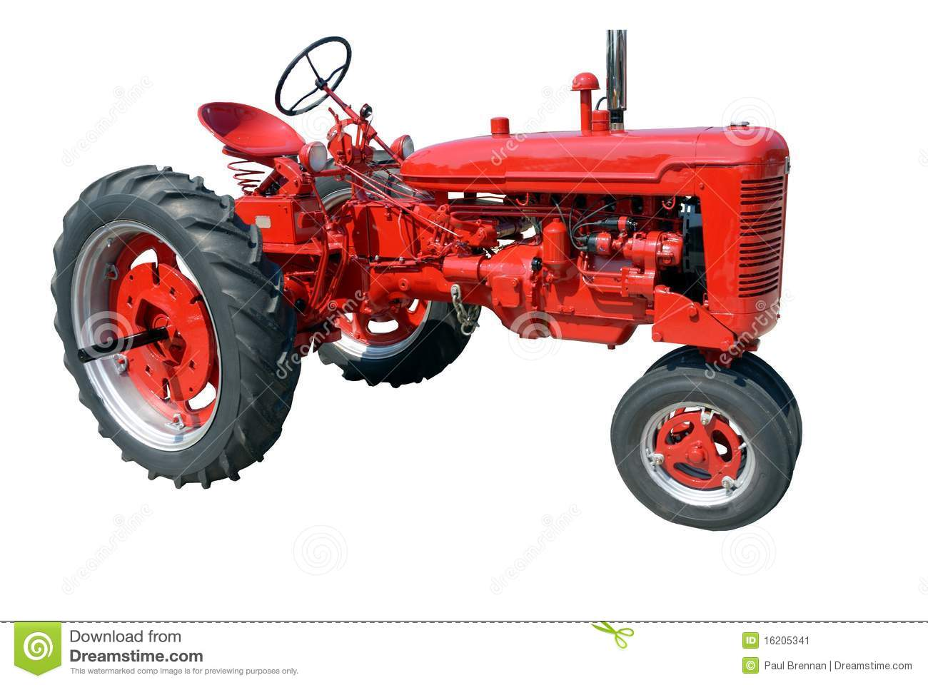 vintage tractor clipart - photo #34
