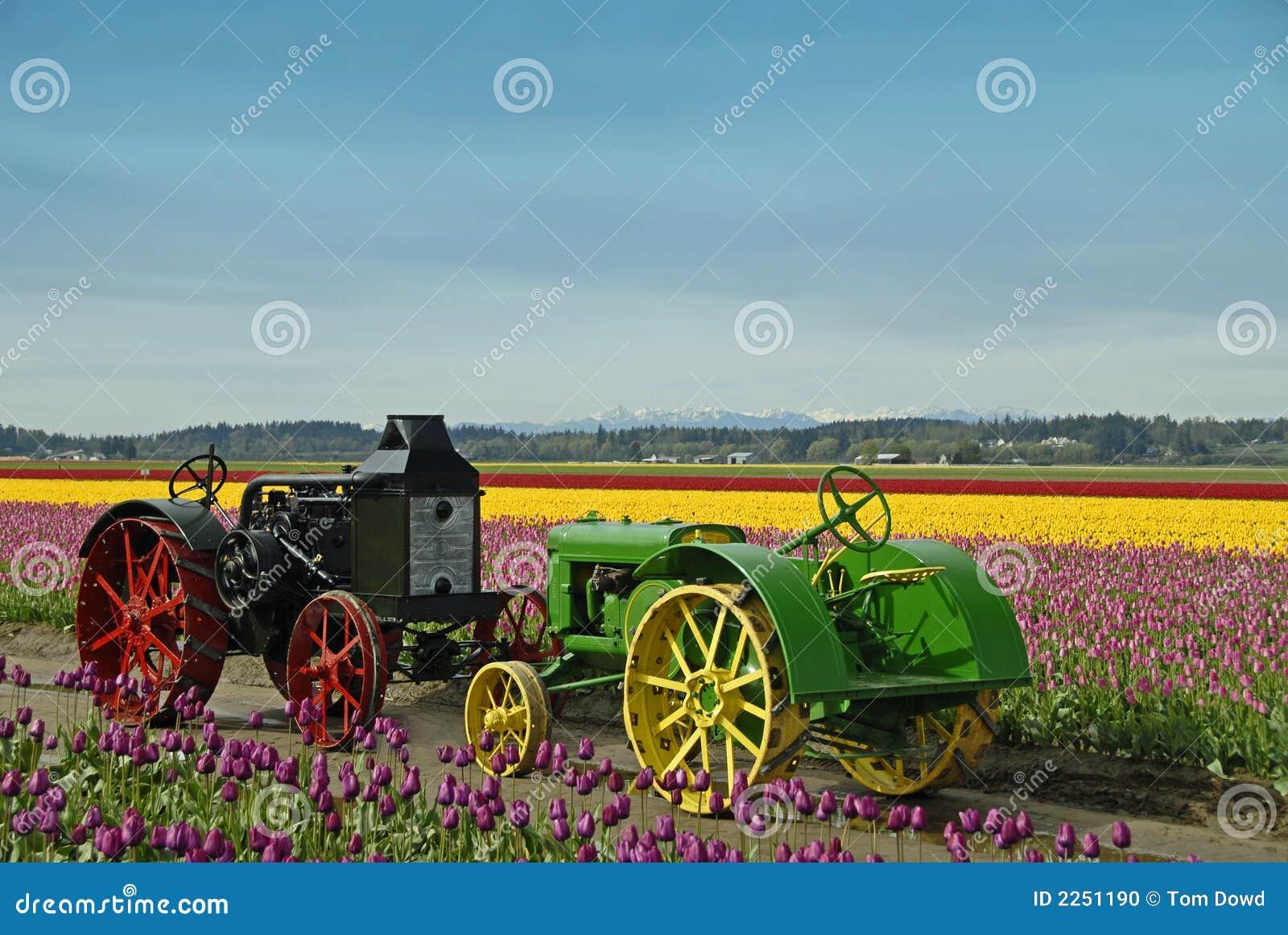 Vintage Farm Tractors Editorial Image Image 2251190