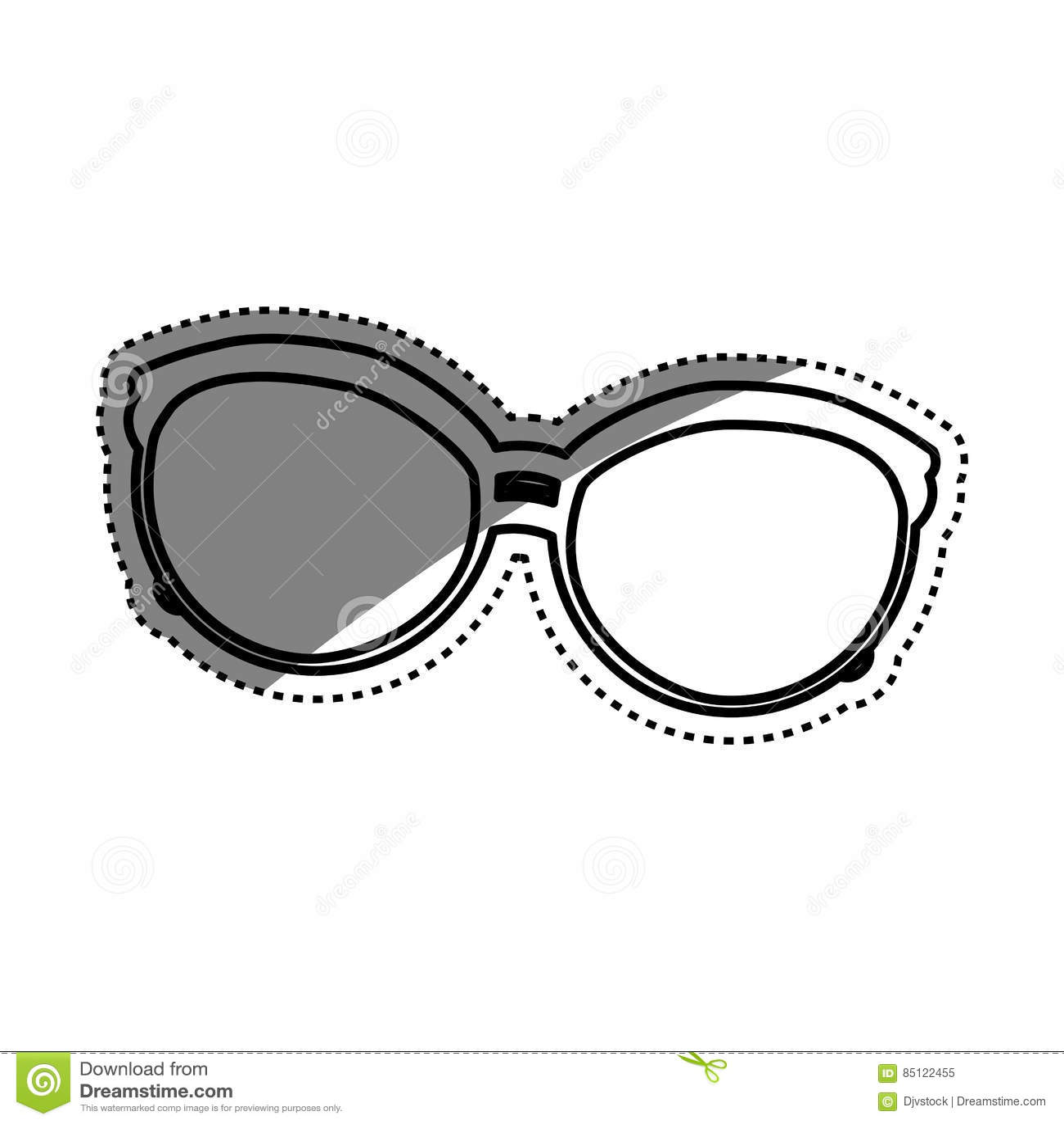 8f761f844398 Vintage fashion glasses icon illustration graphic design. More similar stock  illustrations