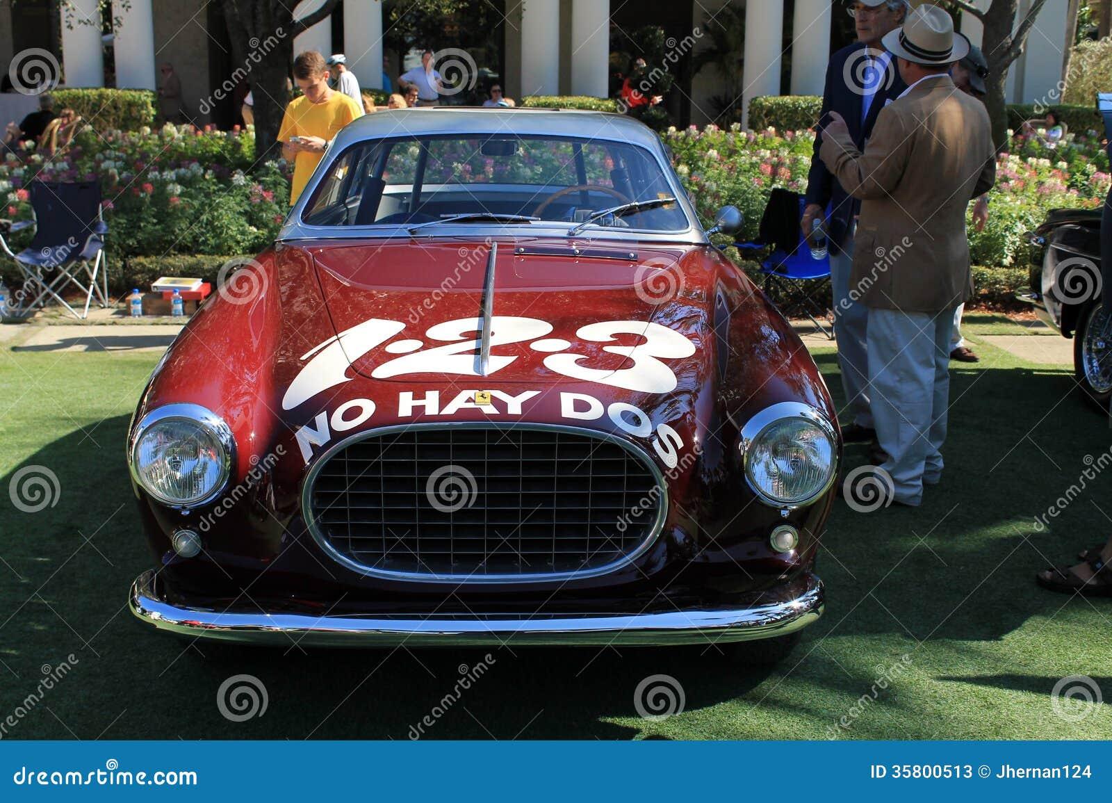 Vintage Ferrari Race Cars