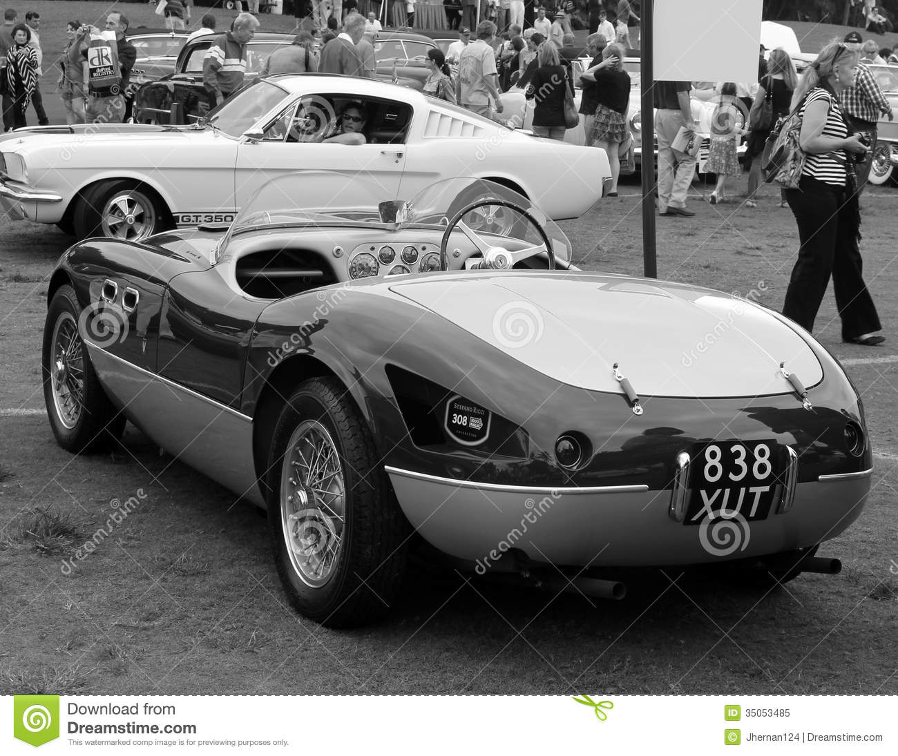 Vintage Ferrari Sports Car Editorial Image  Image: 35053485